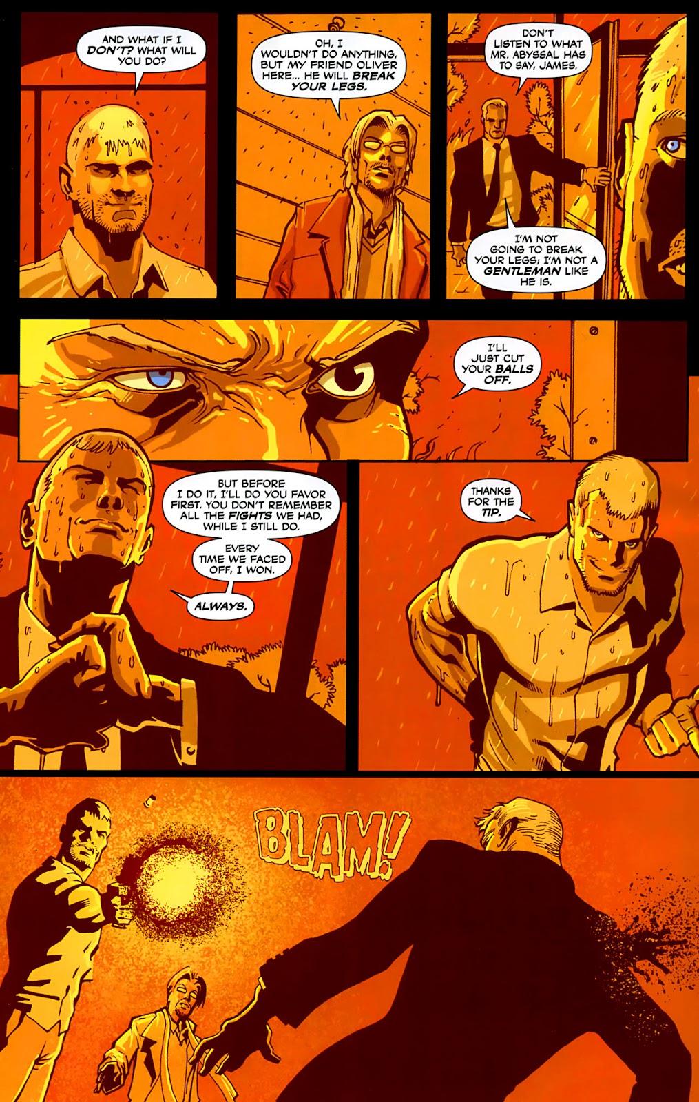 Read online Lazarus (2007) comic -  Issue #3 - 17