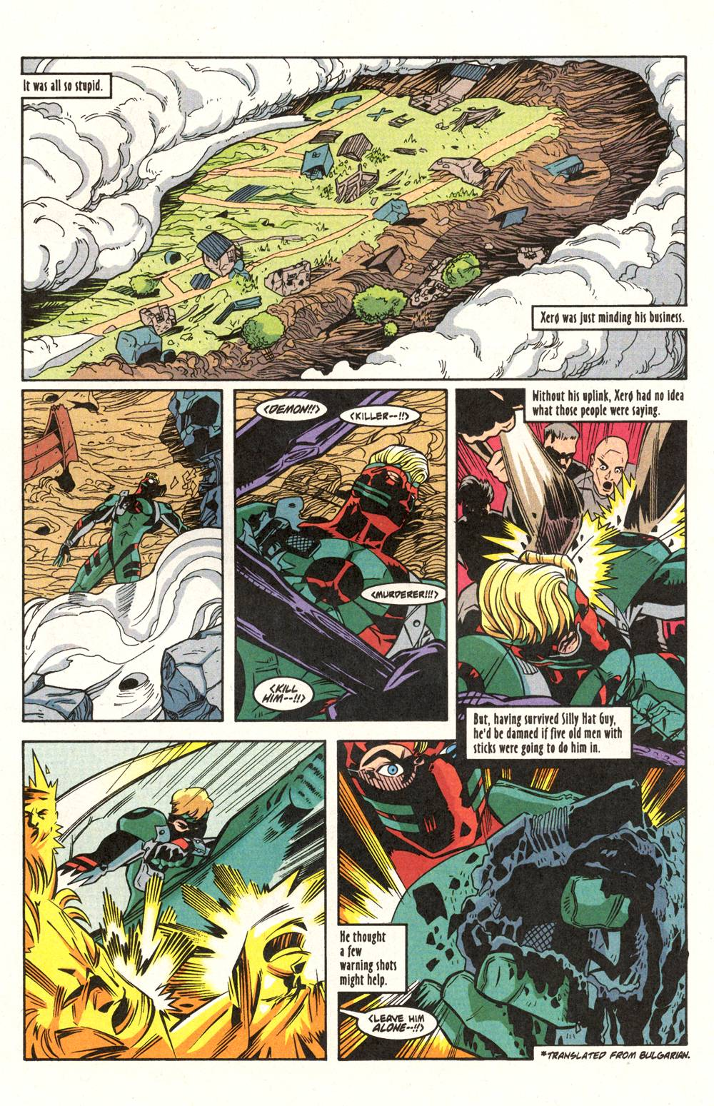 Read online Xero comic -  Issue #6 - 11