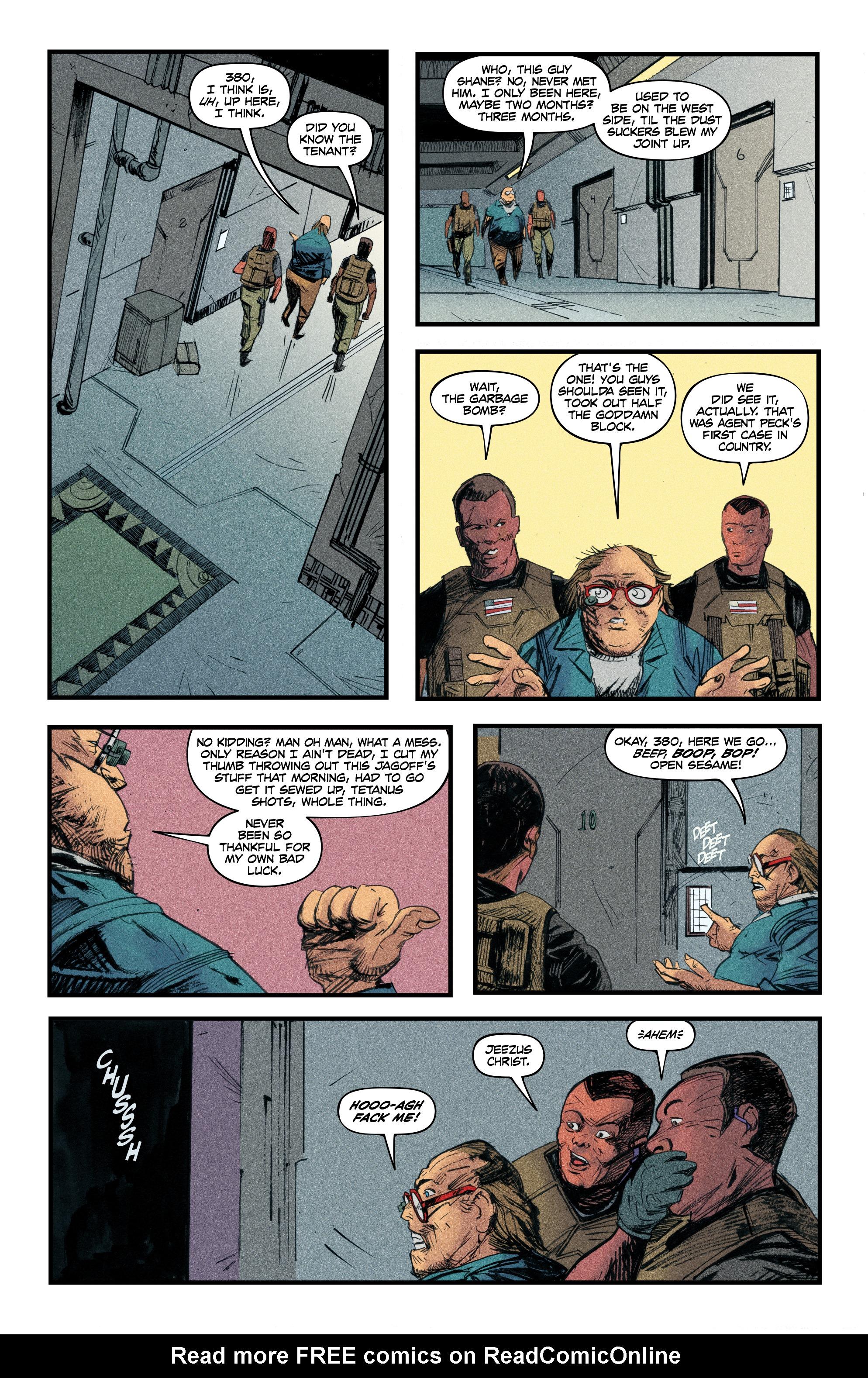 Read online Redline comic -  Issue #4 - 20