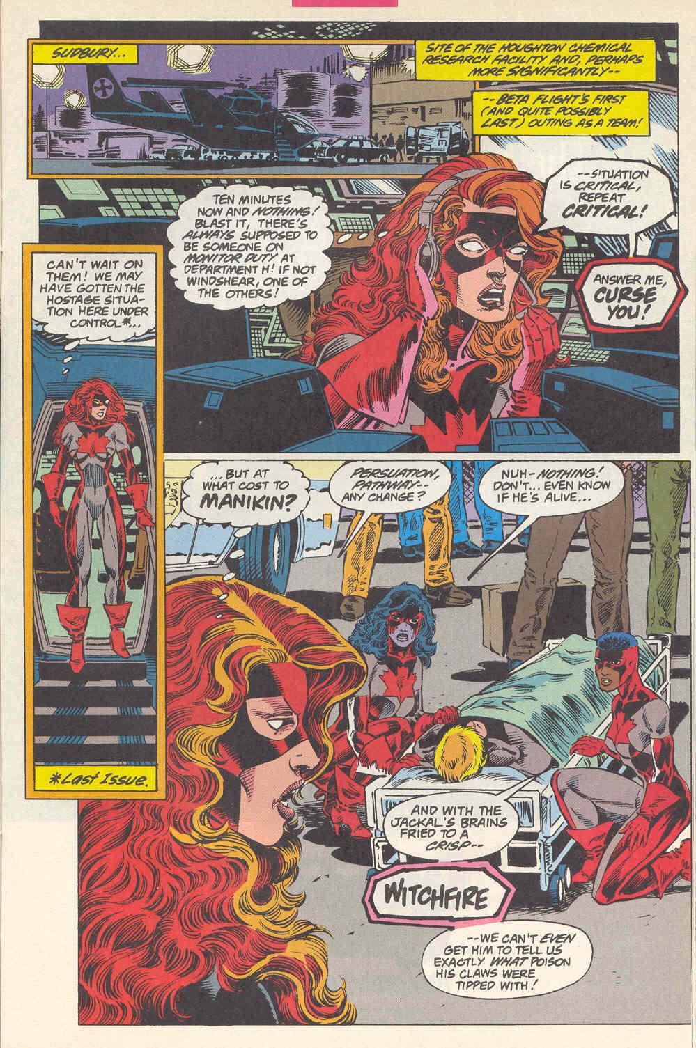 Read online Alpha Flight (1983) comic -  Issue #115 - 12