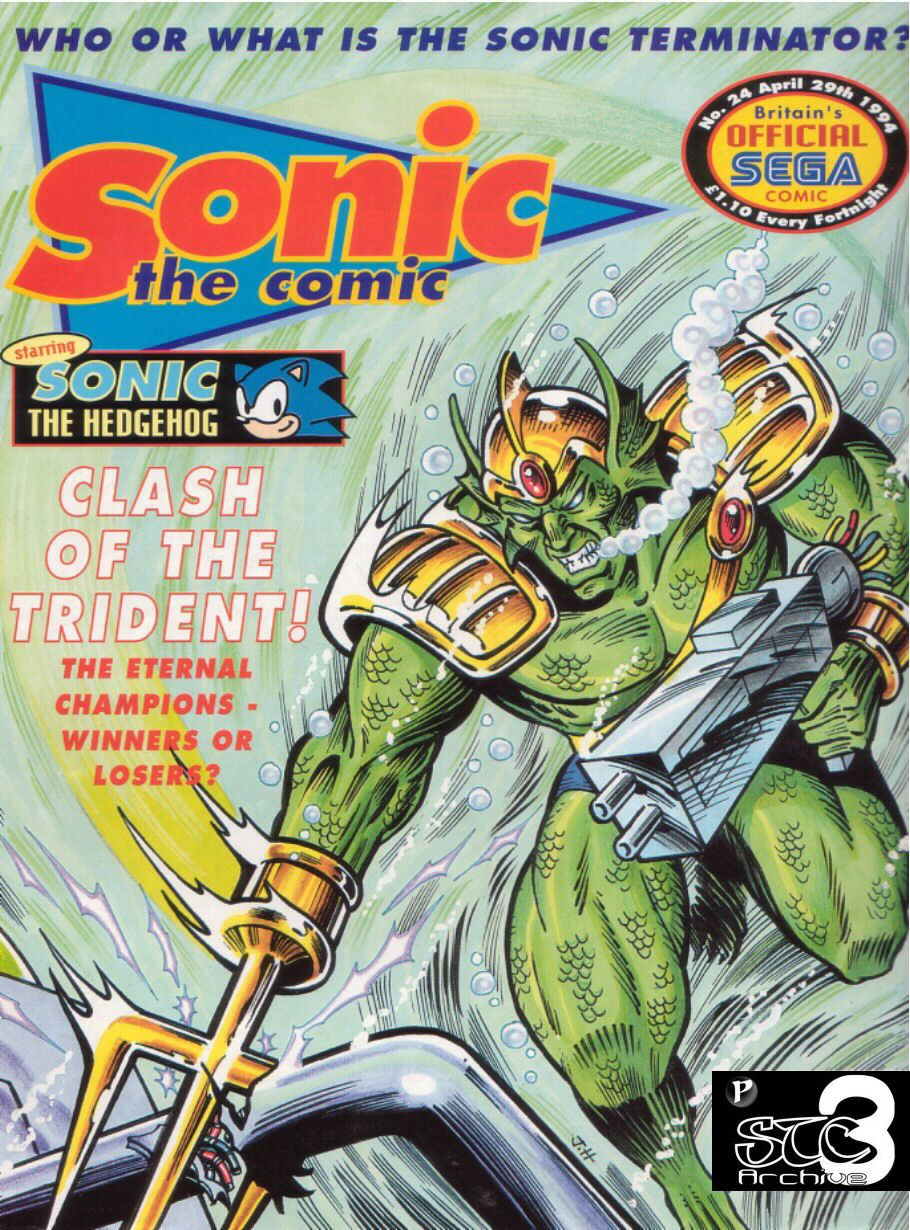 Read online Sonic the Comic comic -  Issue #24 - 1