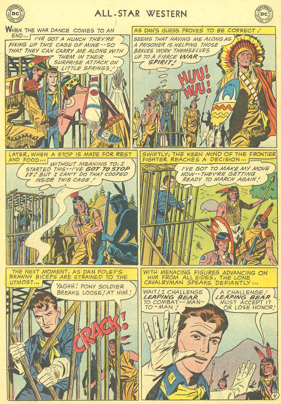 Read online All-Star Western (1951) comic -  Issue #92 - 22