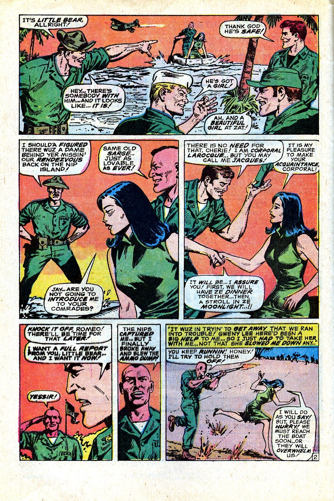Captain Savage and his Leatherneck Raiders issue 18 - Page 4