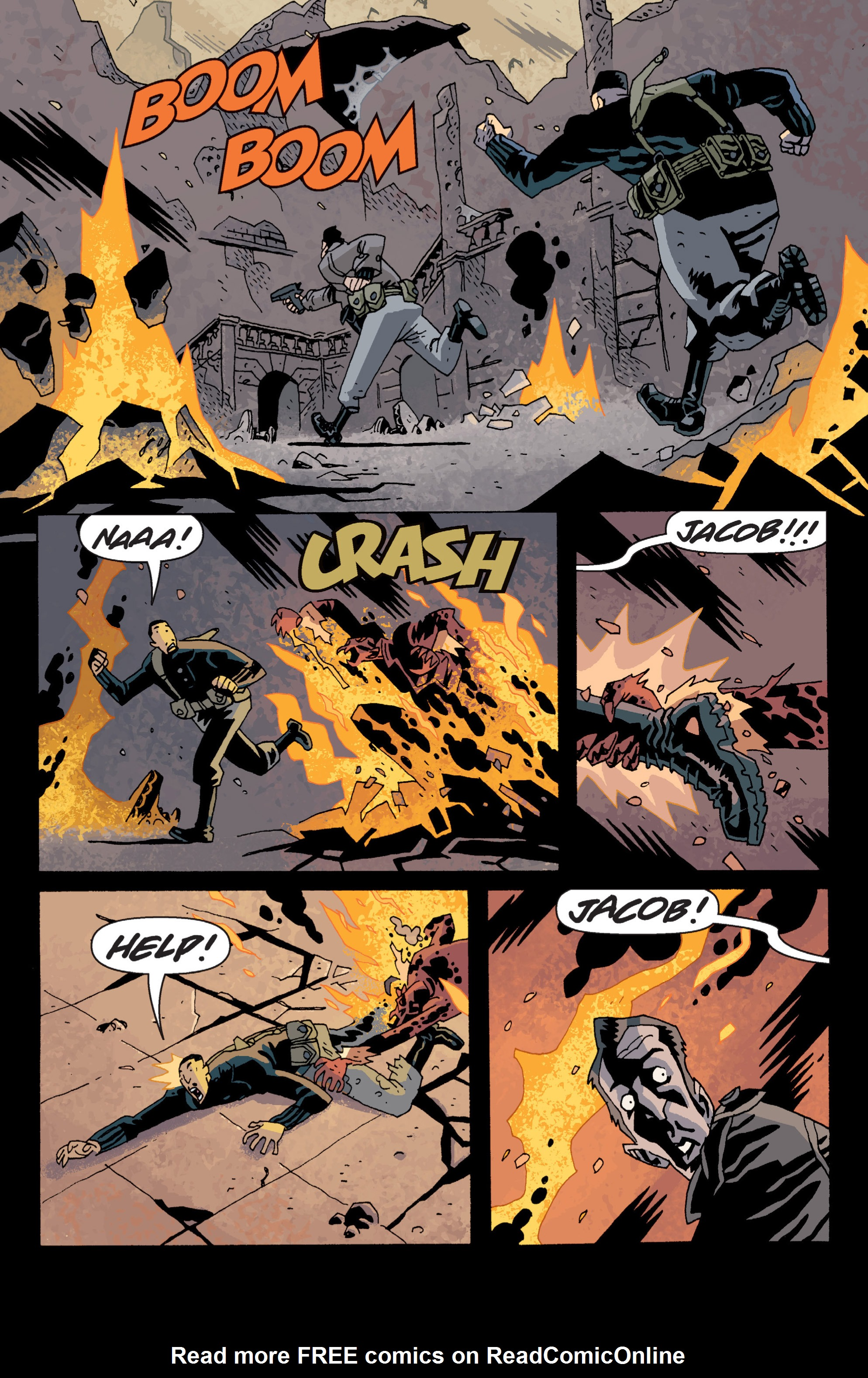 Read online B.P.R.D. (2003) comic -  Issue # TPB 13 - 66