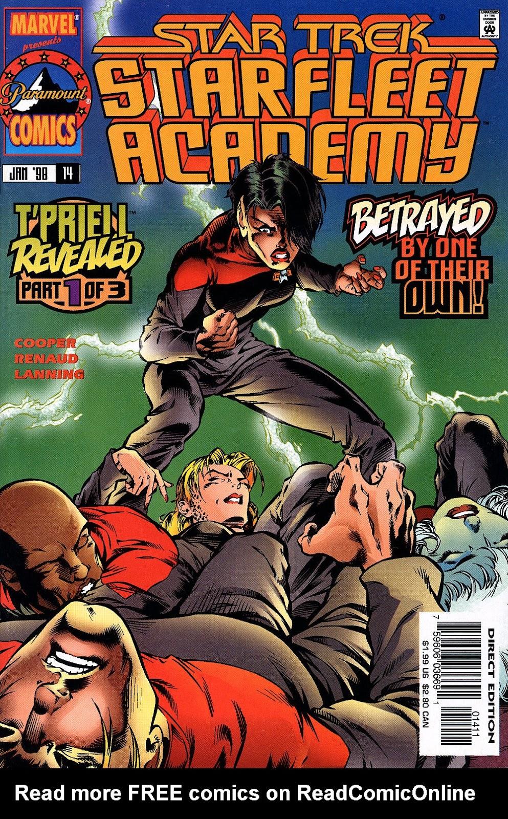 Star Trek: Starfleet Academy (1996) issue 14 - Page 1