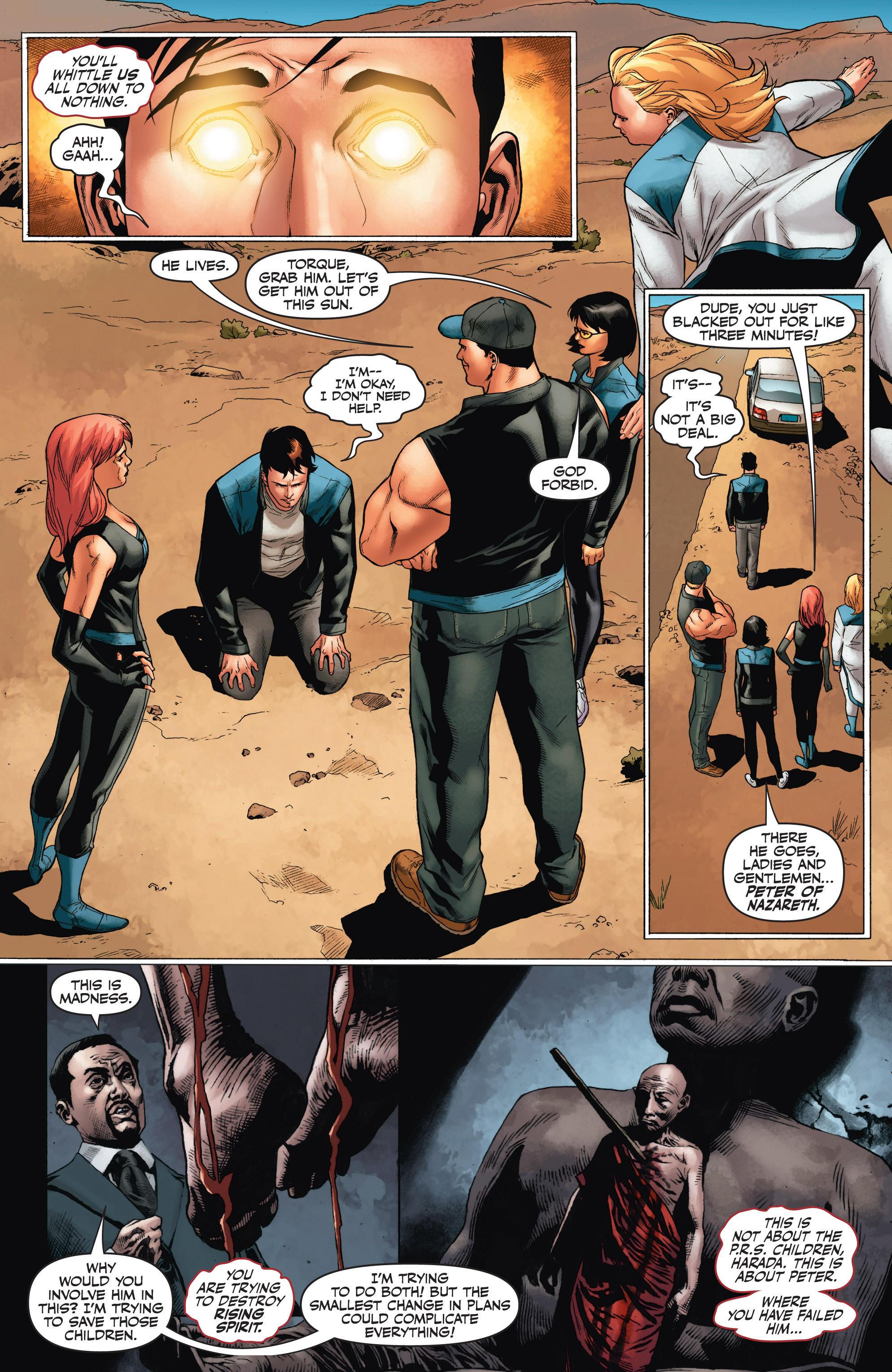 Read online Armor Hunters: Harbinger comic -  Issue # TPB - 94