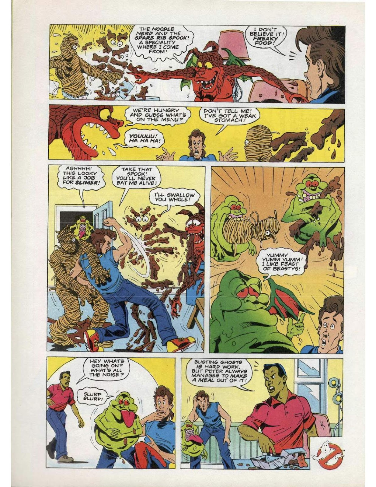 The Real Ghostbusters Issue #193 #167 - English 2