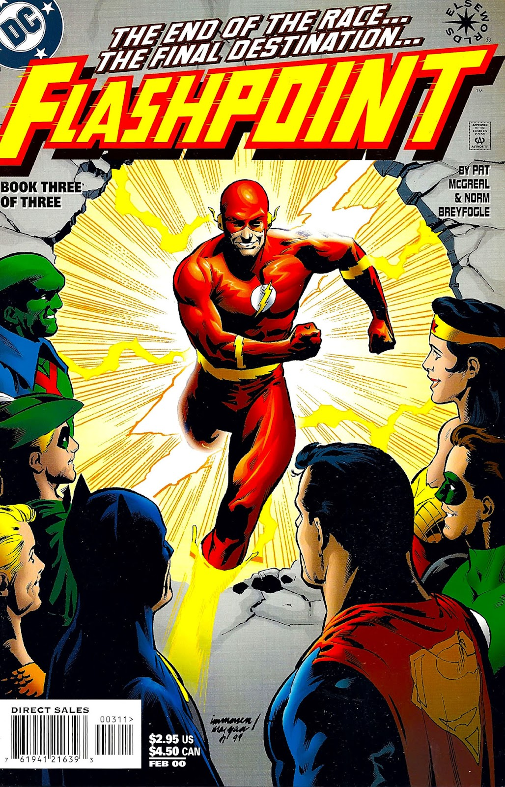 Read online Flashpoint (1999) comic -  Issue #3 - 1