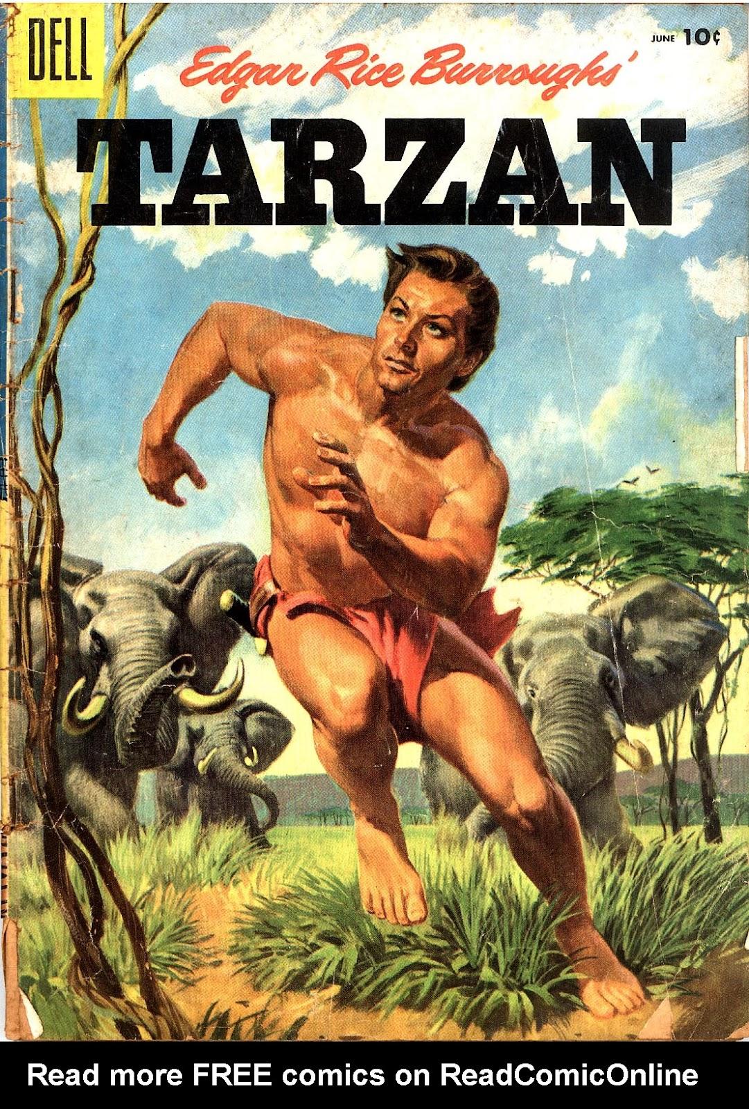 Tarzan (1948) issue 69 - Page 1