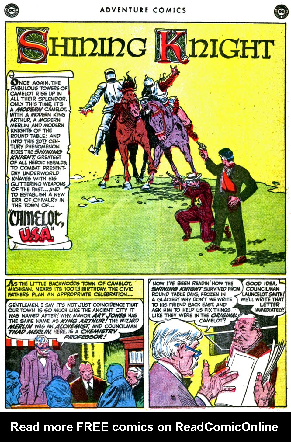 Read online Adventure Comics (1938) comic -  Issue #157 - 27