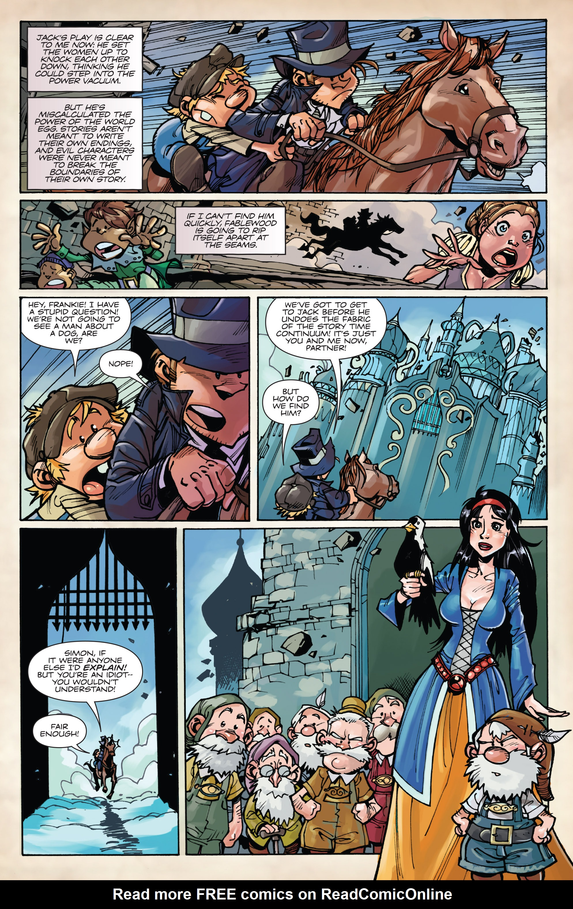 Read online Fiction Squad comic -  Issue #6 - 11