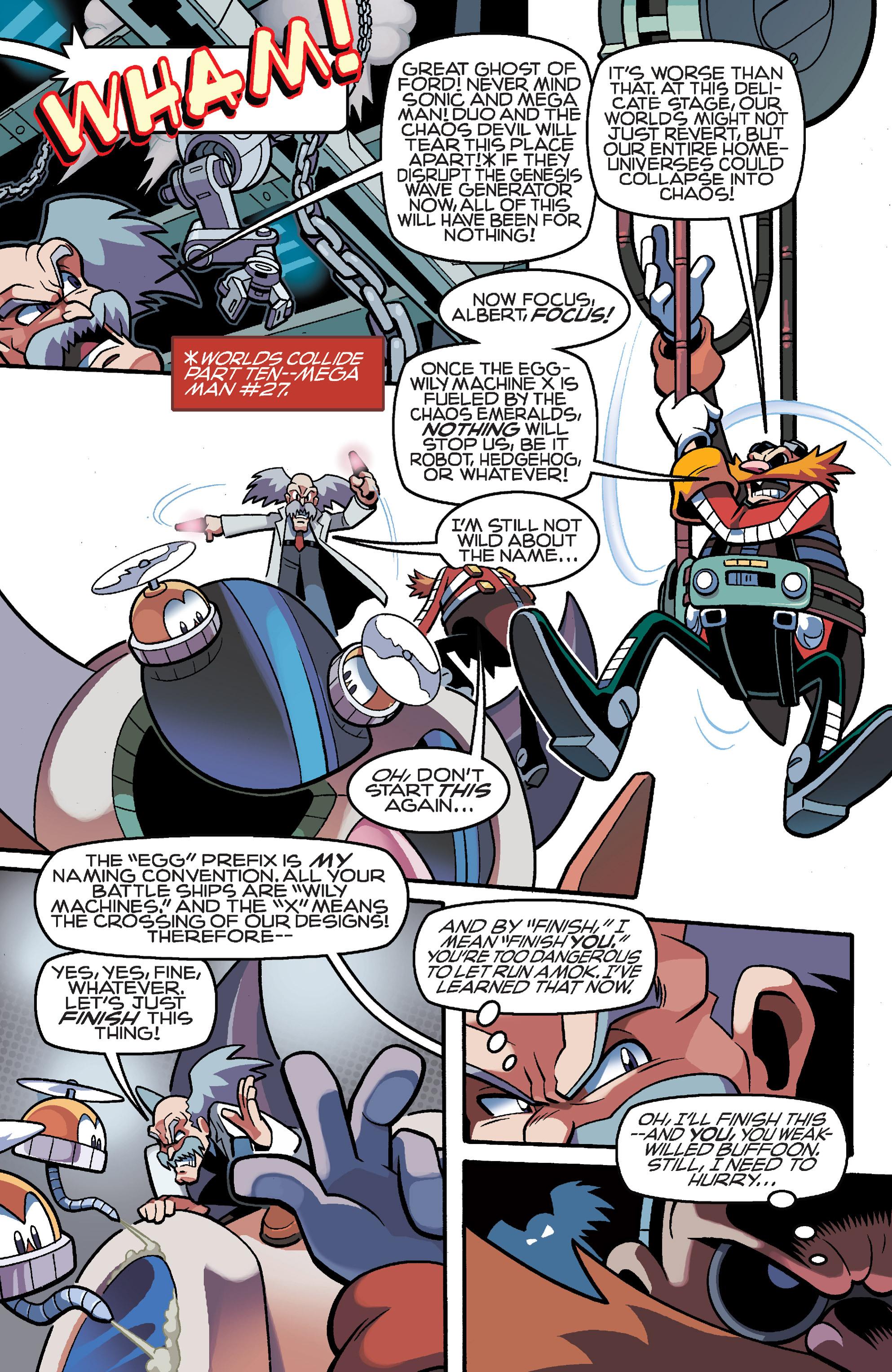 Read online Sonic Mega Man Worlds Collide comic -  Issue # Vol 3 - 74