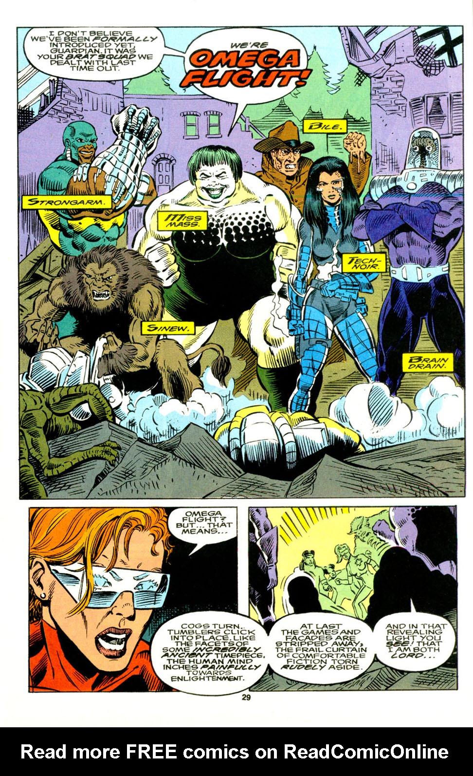 Read online Alpha Flight (1983) comic -  Issue #129 - 22