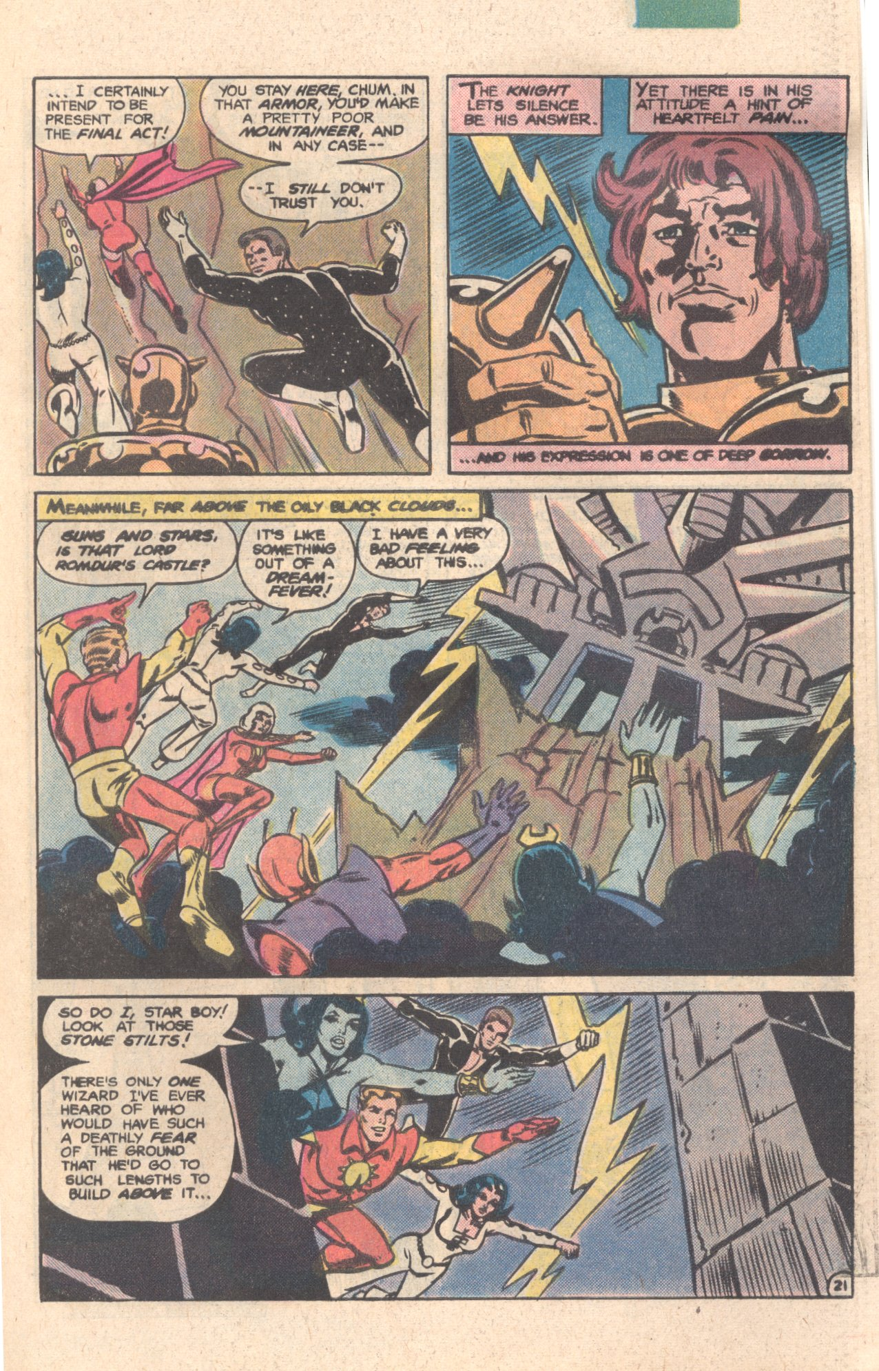 Legion of Super-Heroes (1980) 276 Page 21