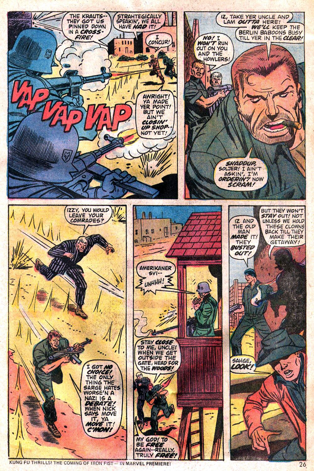 Read online Sgt. Fury comic -  Issue #120 - 28