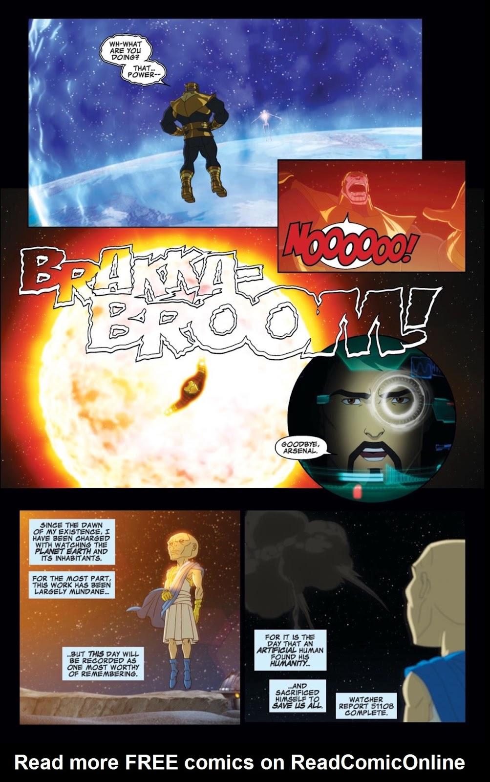 Read online Marvel Universe Avengers Assemble Season 2 comic -  Issue #2 - 22
