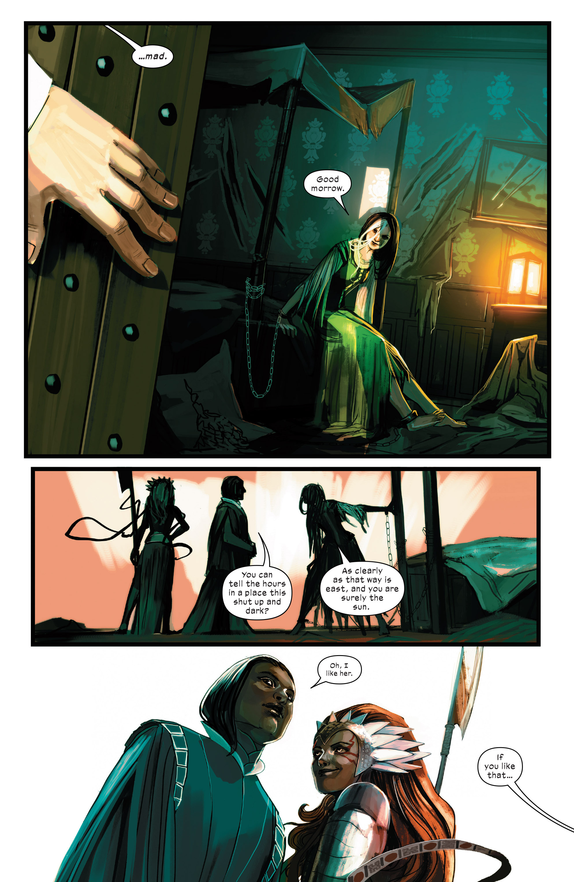 Read online 1602 Witch Hunter Angela comic -  Issue #3 - 4