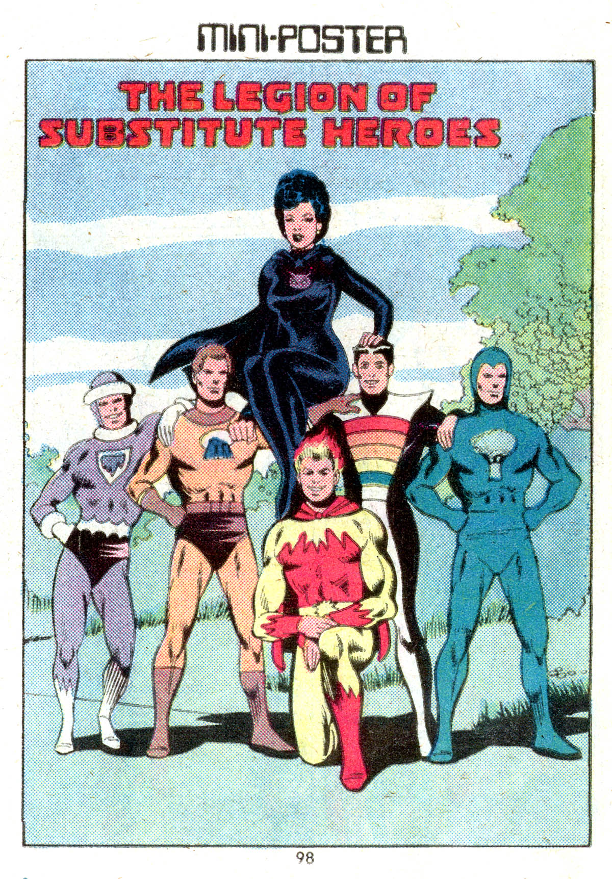 Read online Adventure Comics (1938) comic -  Issue #501 - 98