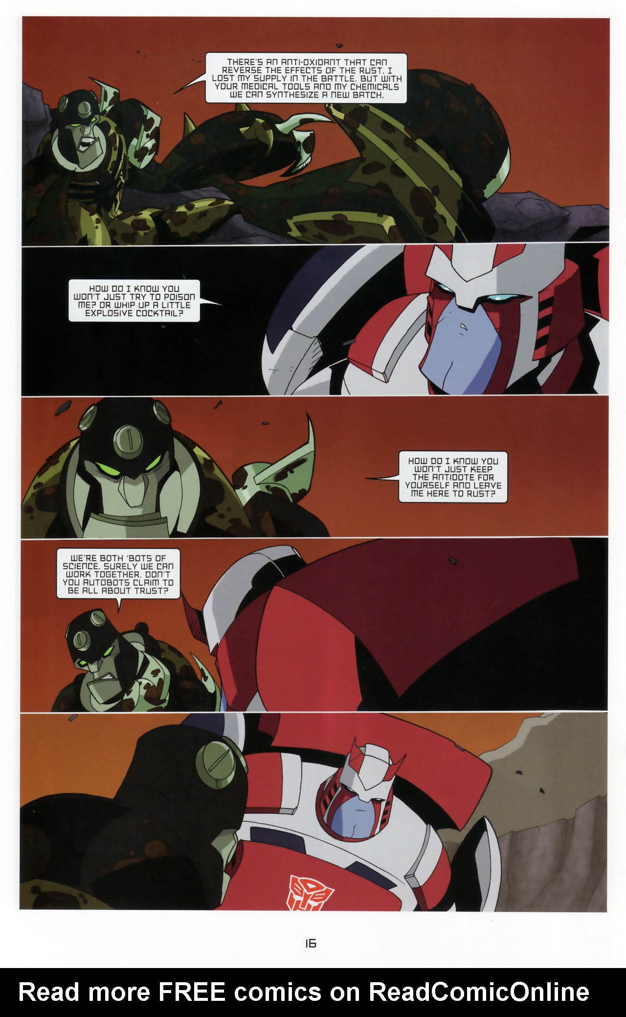 Read online Transformers Animated: The Arrival comic -  Issue #3 - 18