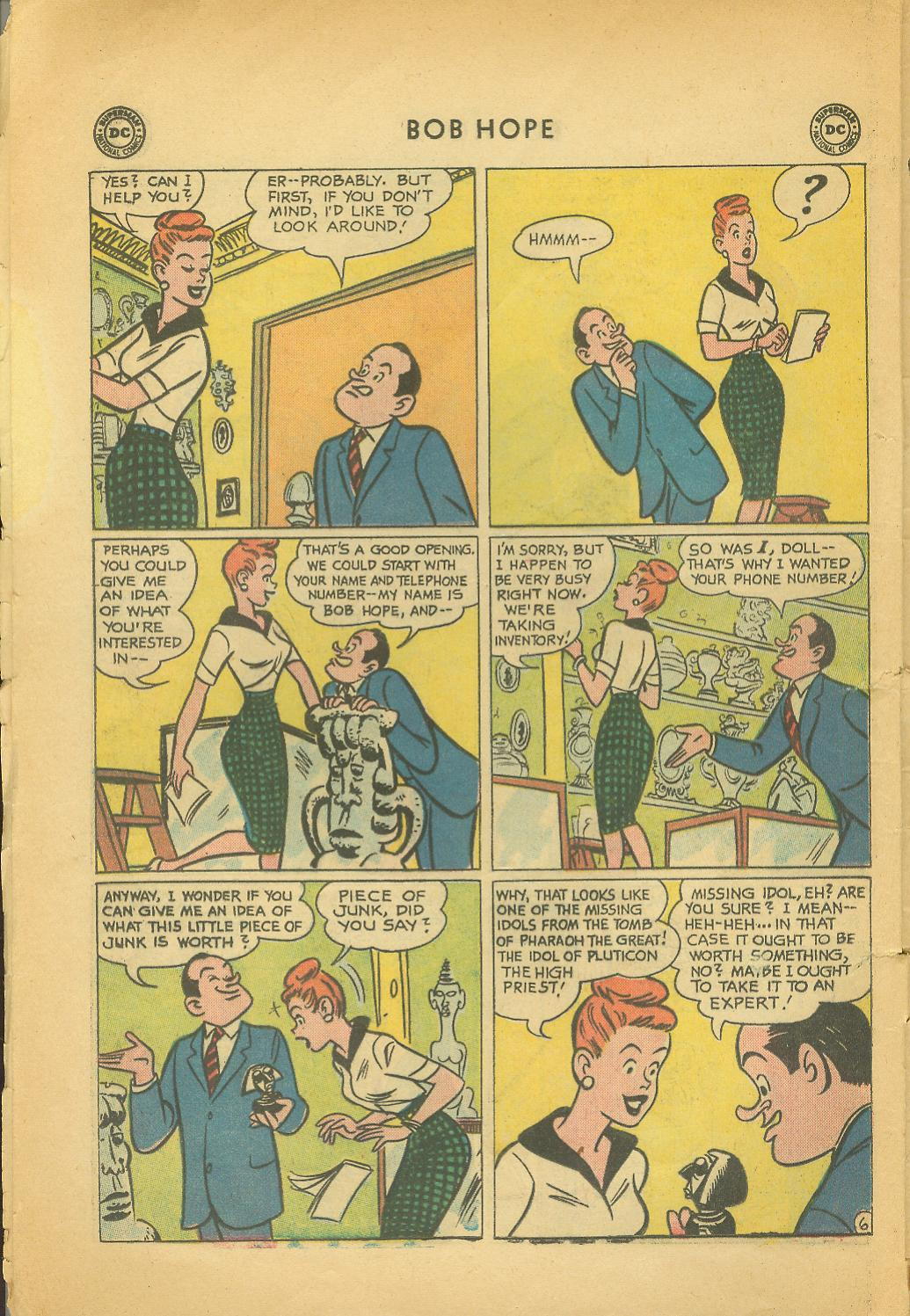 The Adventures of Bob Hope issue 64 - Page 8