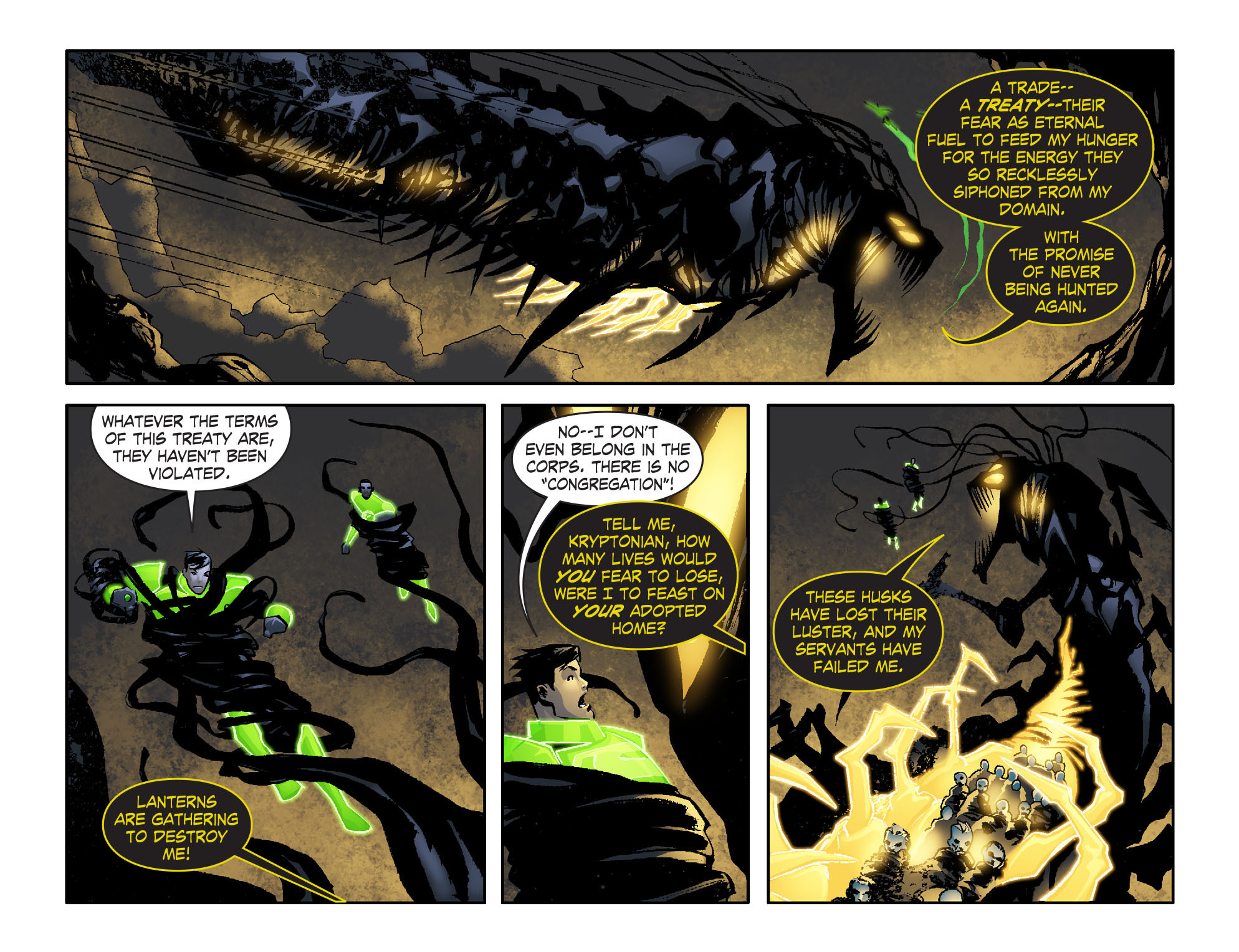 Read online Smallville: Lantern [I] comic -  Issue #6 - 21