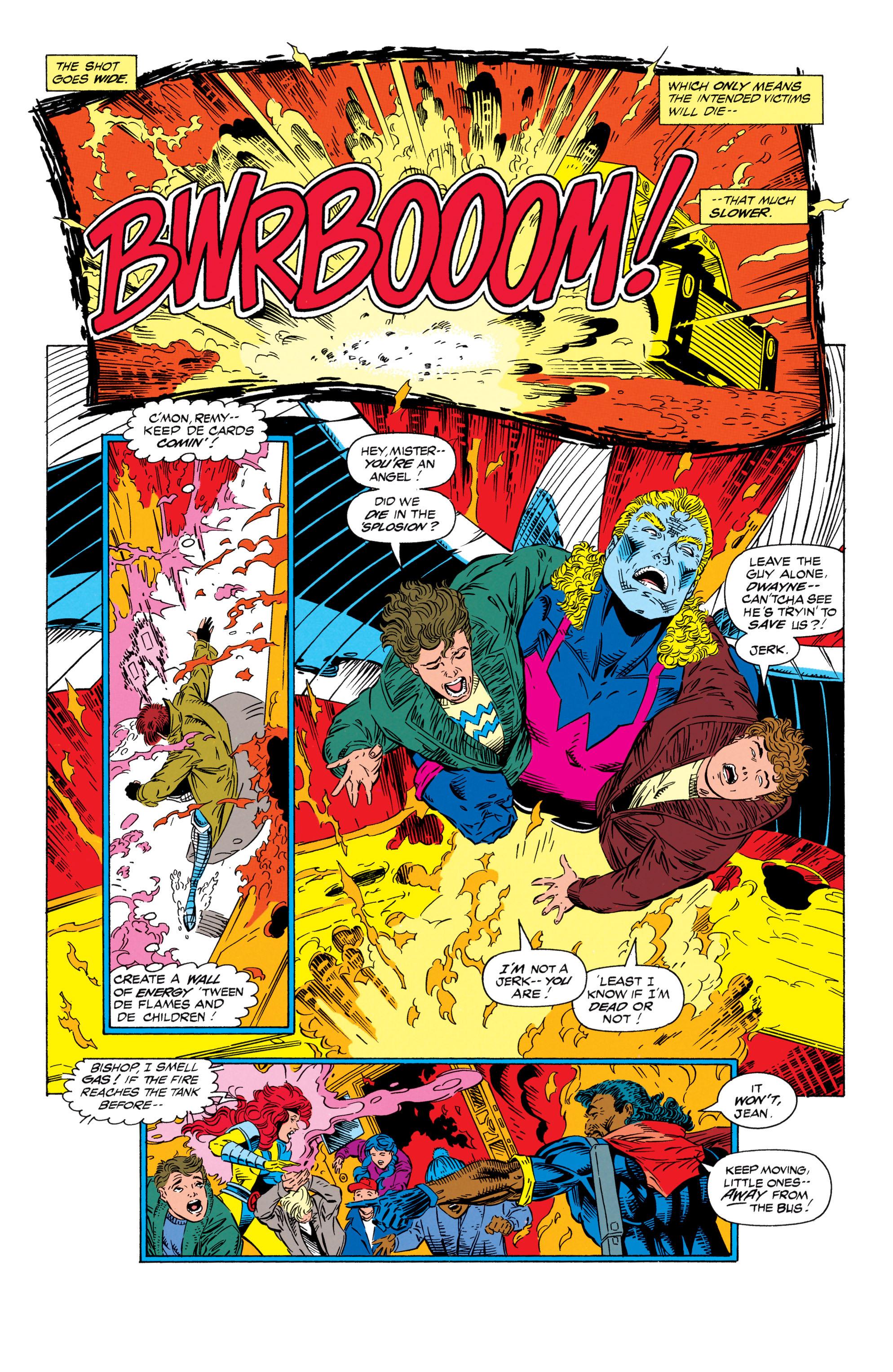 Read online Uncanny X-Men (1963) comic -  Issue #298 - 20