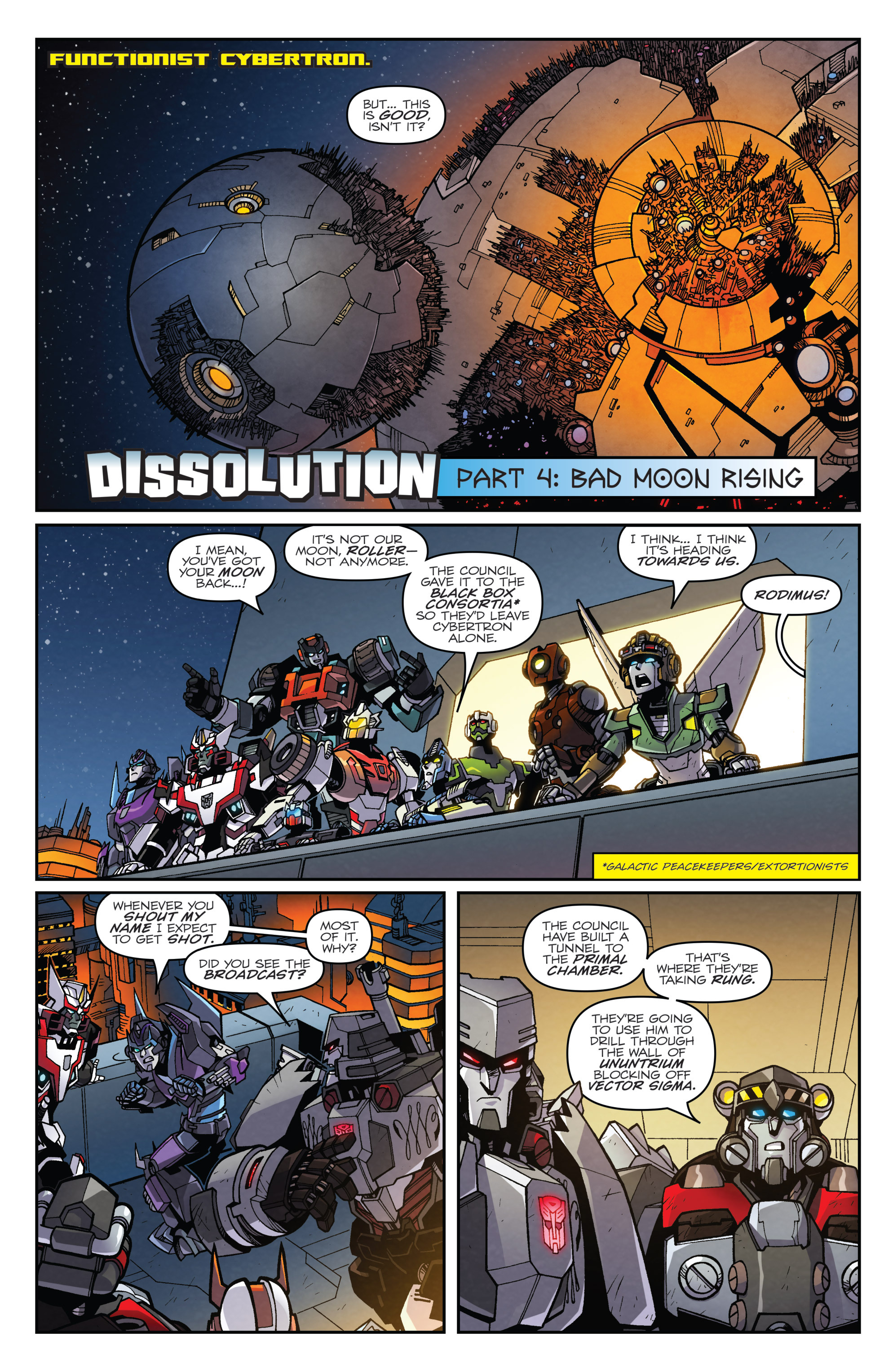 Read online Transformers: Lost Light comic -  Issue #4 - 3