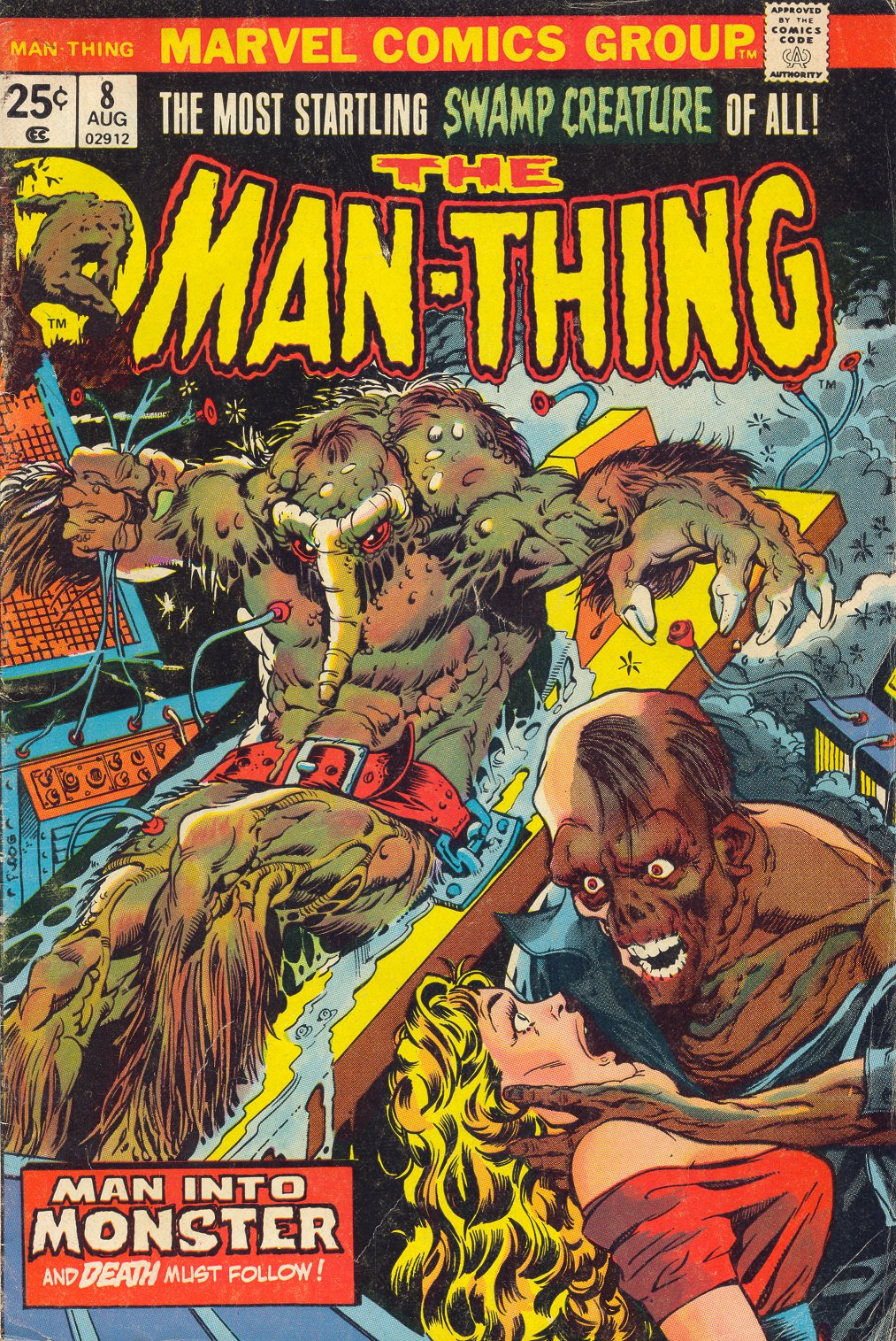 Man-Thing (1974) 8 Page 1