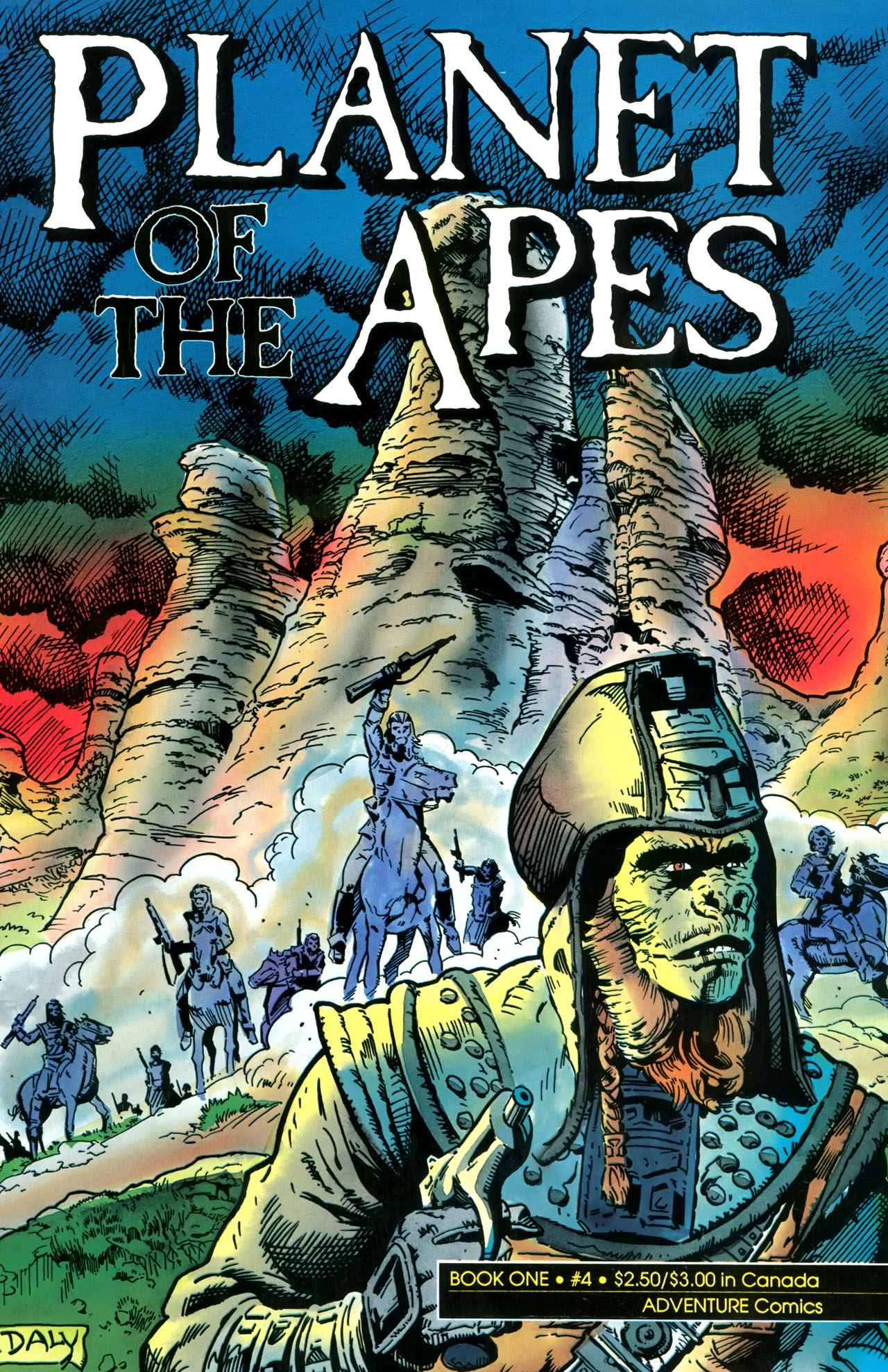 Planet of the Apes (1990) 4 Page 1