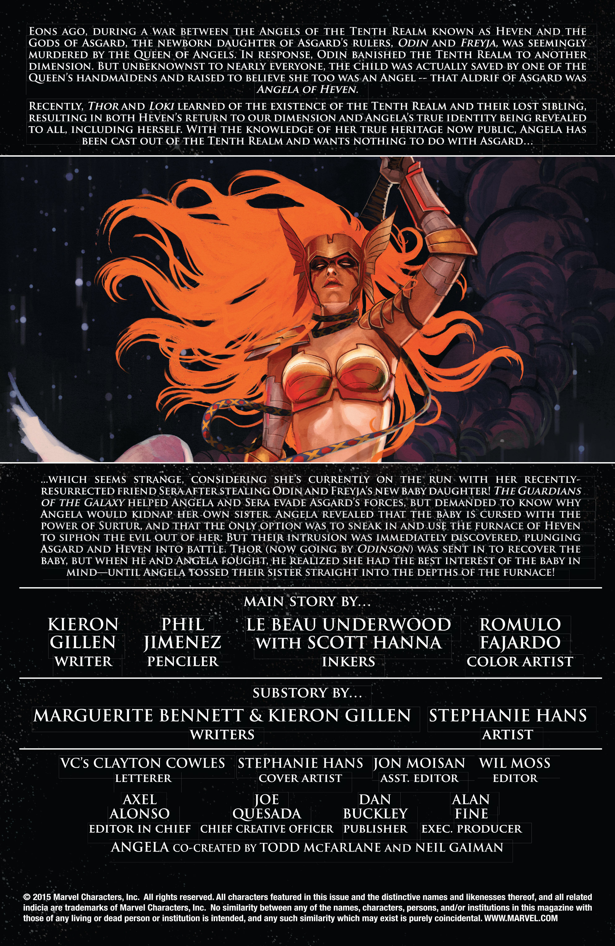 Read online Angela: Asgard's Assassin comic -  Issue #6 - 2