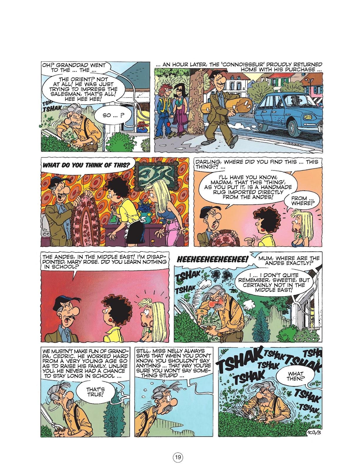 Read online Cedric comic -  Issue #6 - 21