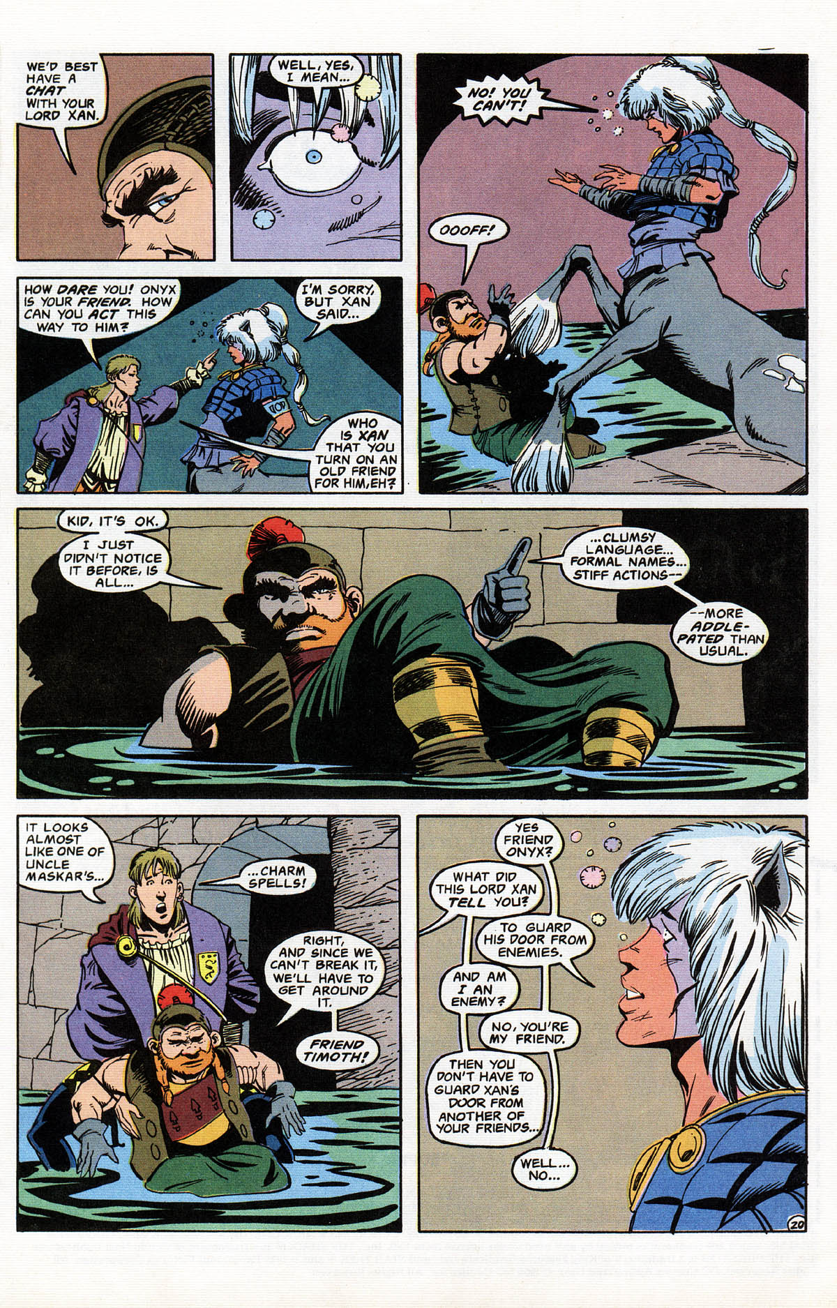 Read online Advanced Dungeons & Dragons comic -  Issue #11 - 24