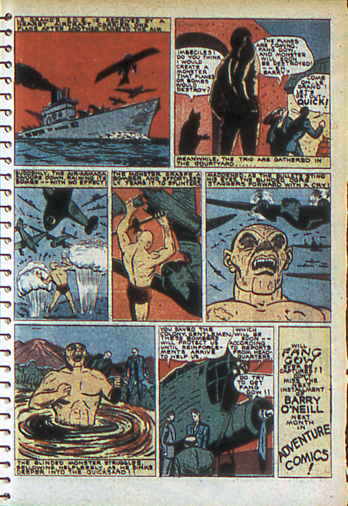 Read online Adventure Comics (1938) comic -  Issue #55 - 18