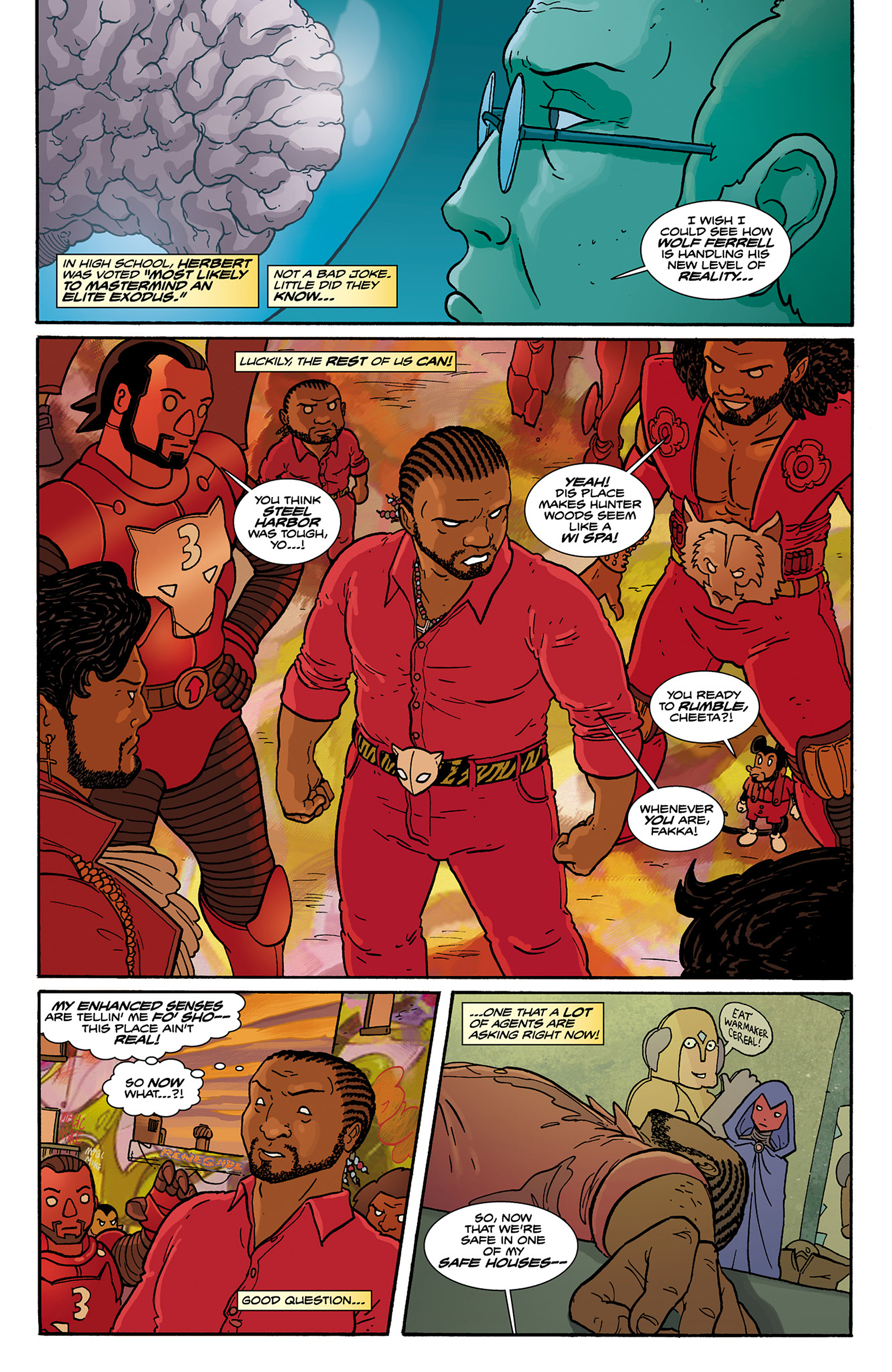 Read online Catalyst Comix comic -  Issue #6 - 18