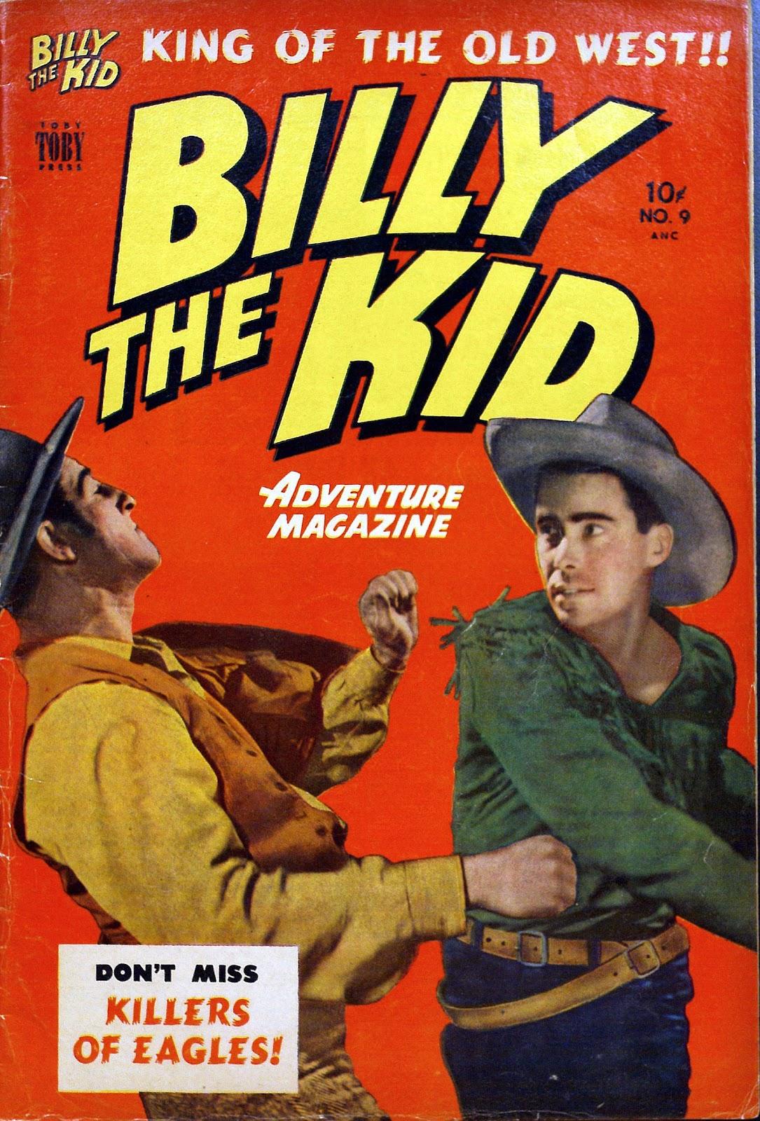 Billy the Kid Adventure Magazine 9 Page 1