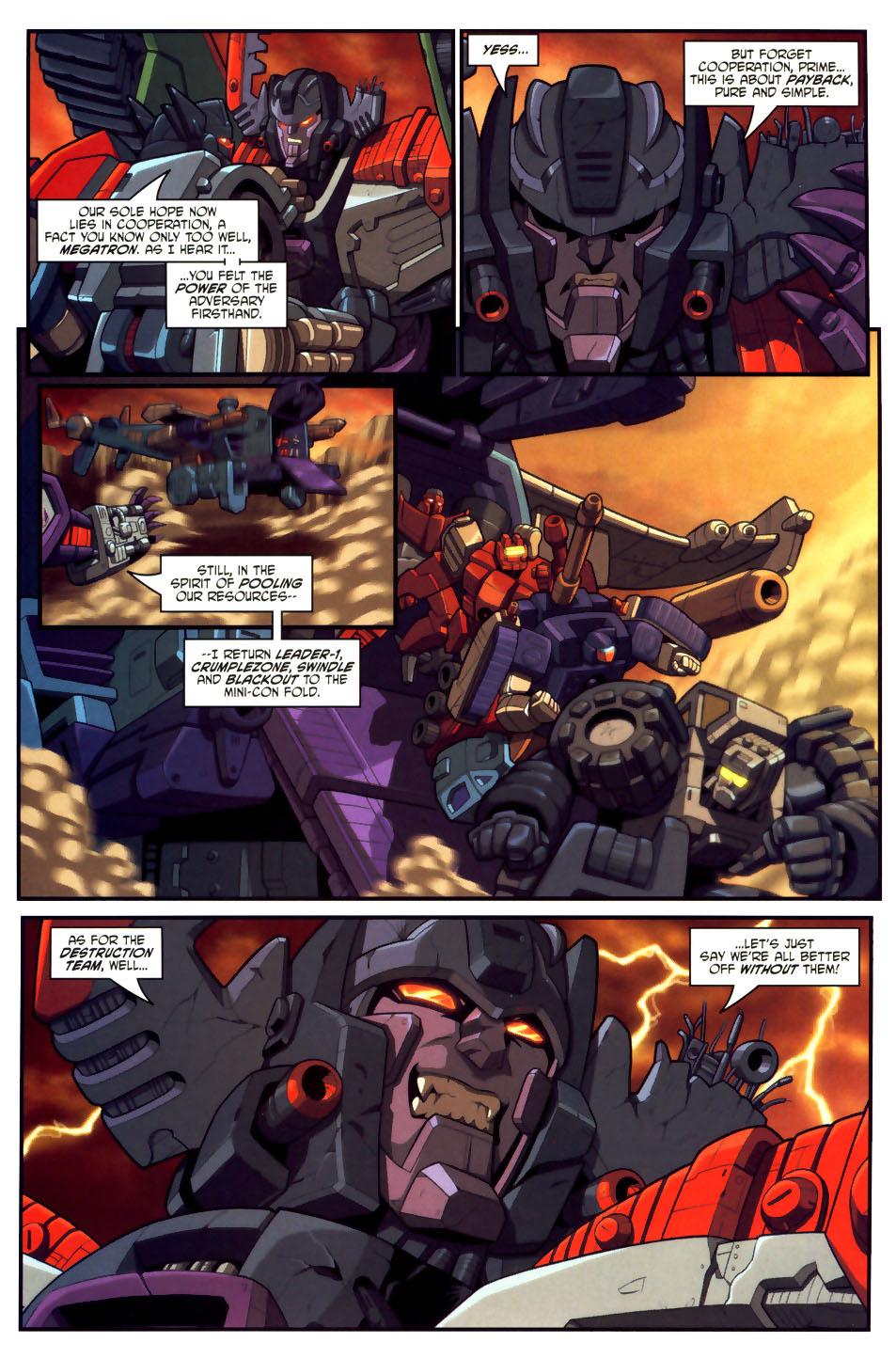 Read online Transformers Armada comic -  Issue #18 - 8