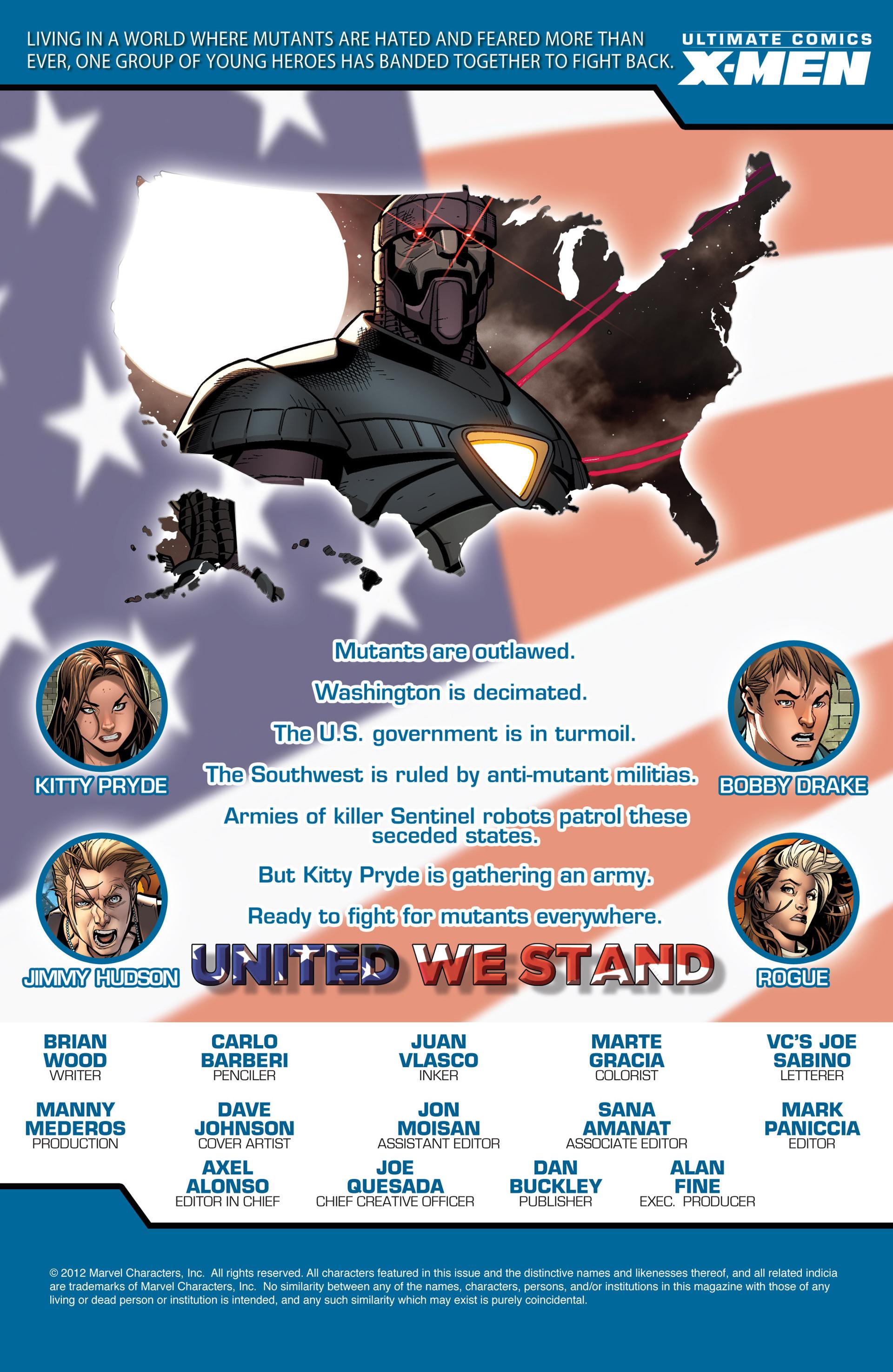 Read online Ultimate Comics X-Men comic -  Issue #17 - 2