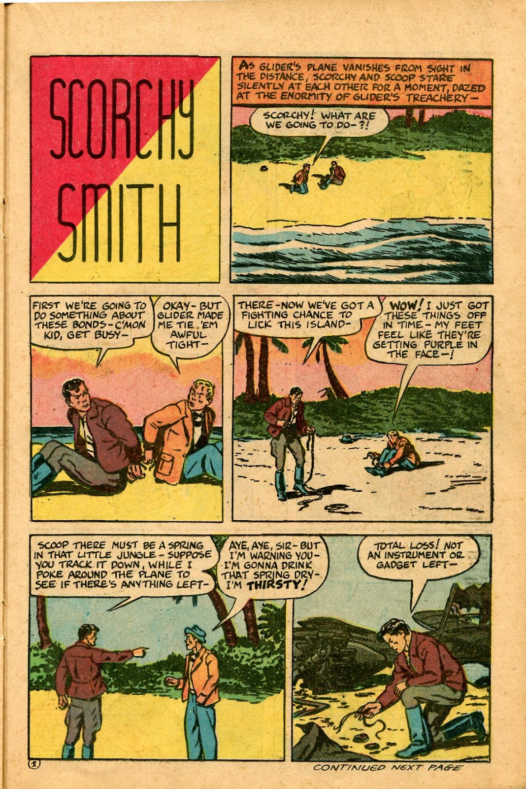 Read online Famous Funnies comic -  Issue #136 - 21