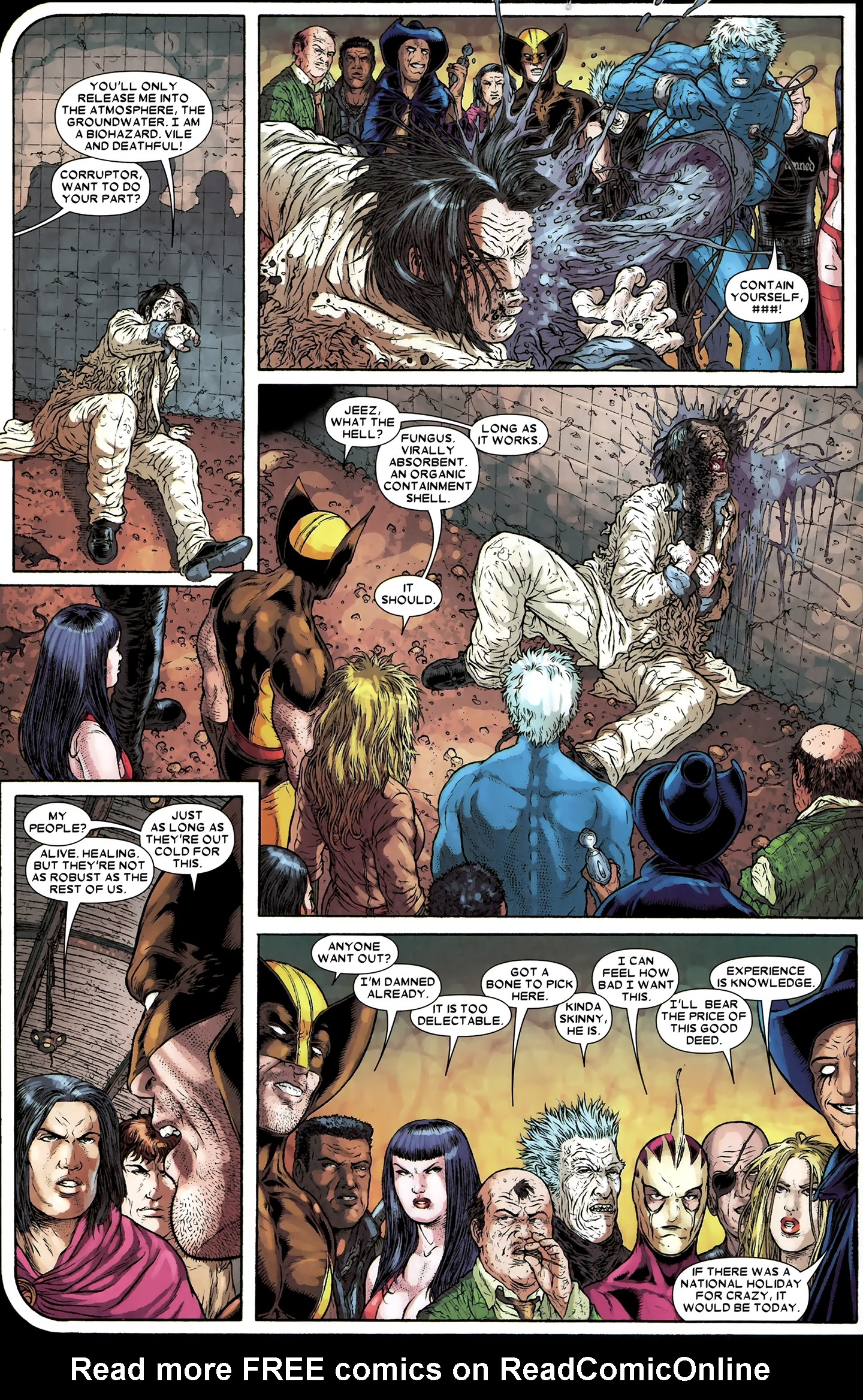 Read online Wolverine: The Best There Is comic -  Issue #12 - 20
