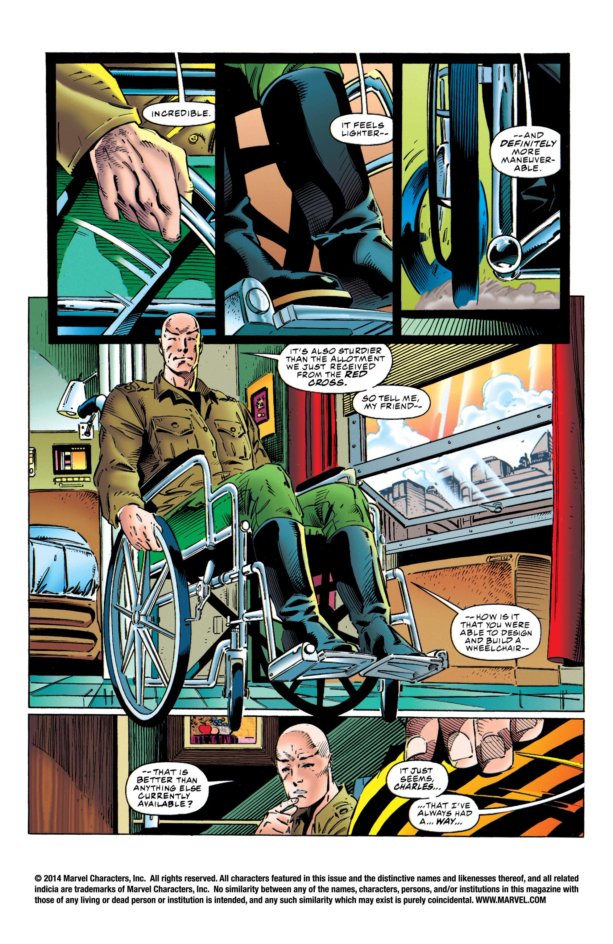 X-Men (1991) 40 Page 1