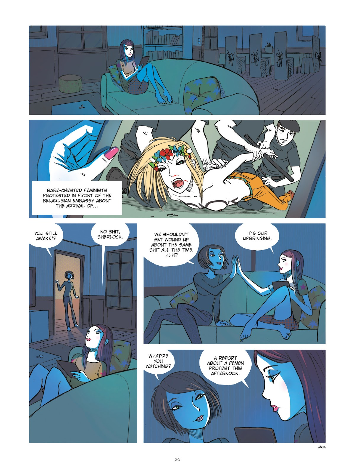 Read online Diary of A Femen comic -  Issue # TPB - 28