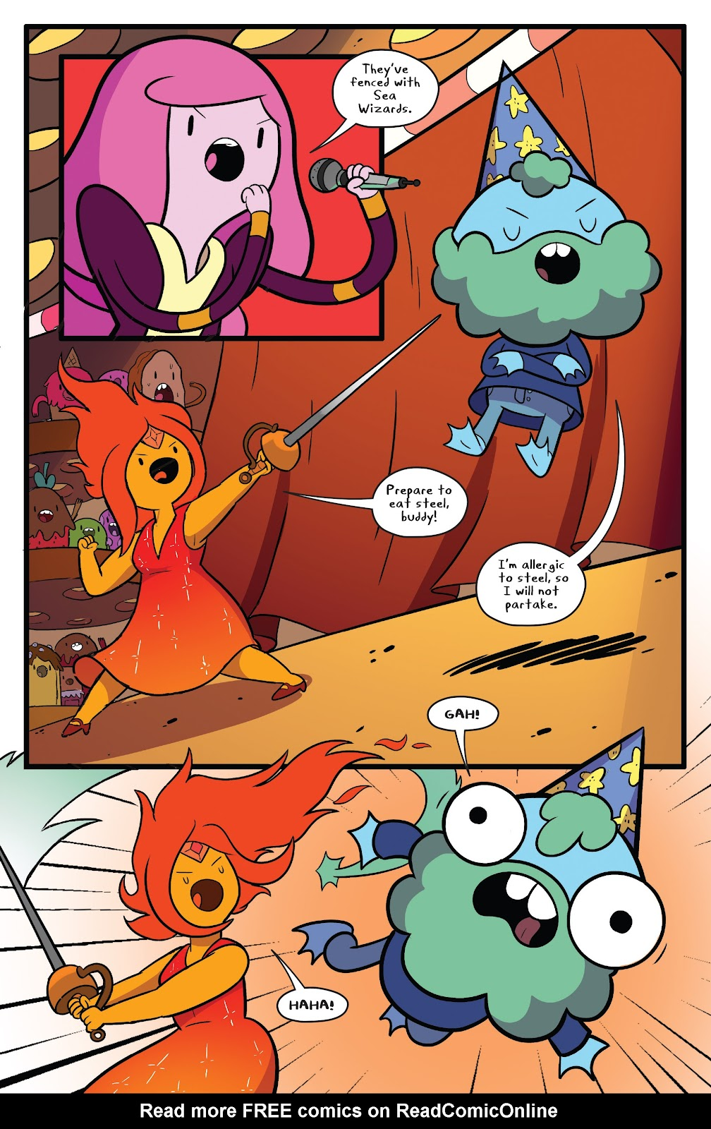Read online Adventure Time comic -  Issue #63 - 8
