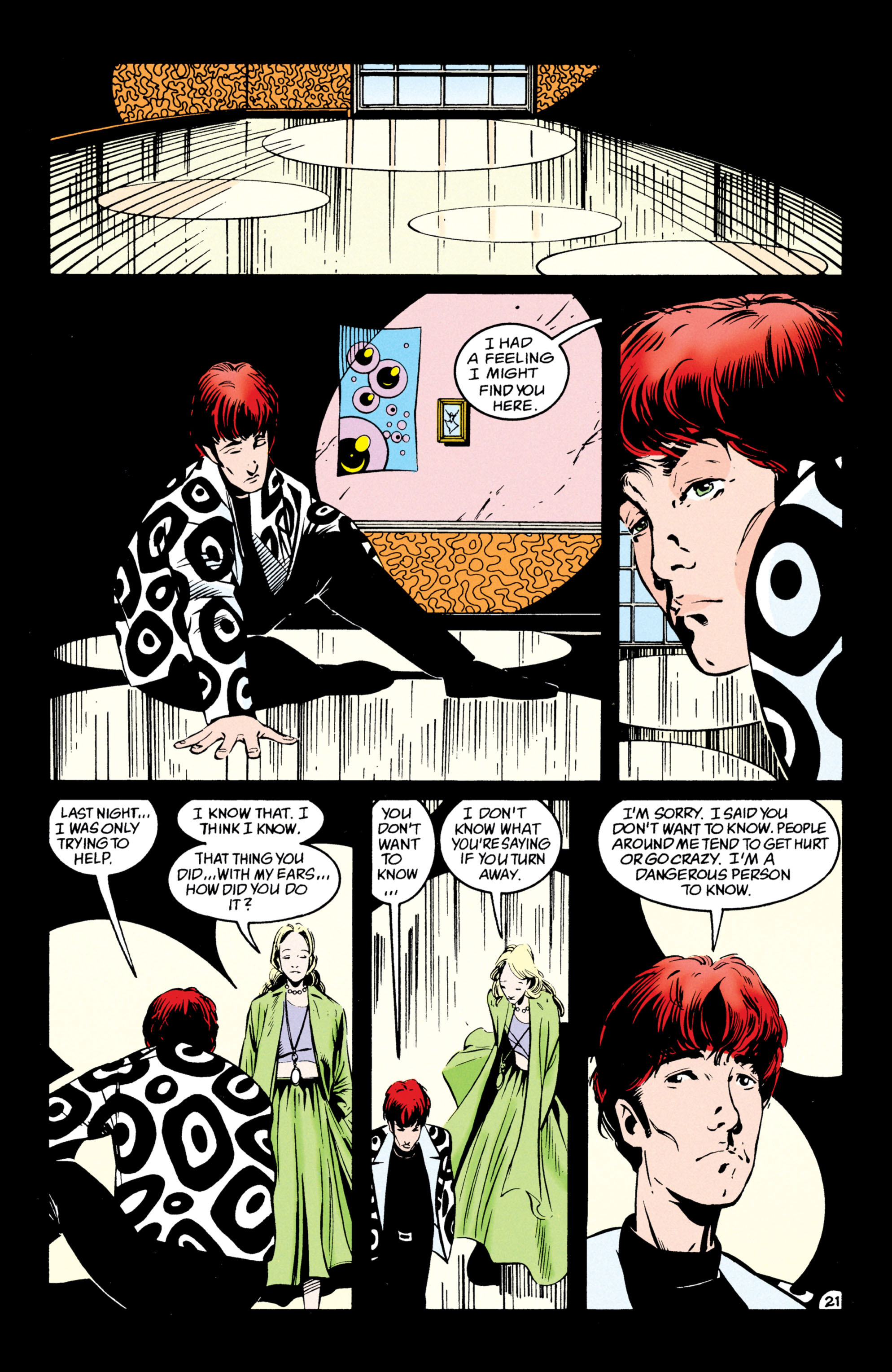 Read online Shade, the Changing Man comic -  Issue #54 - 22