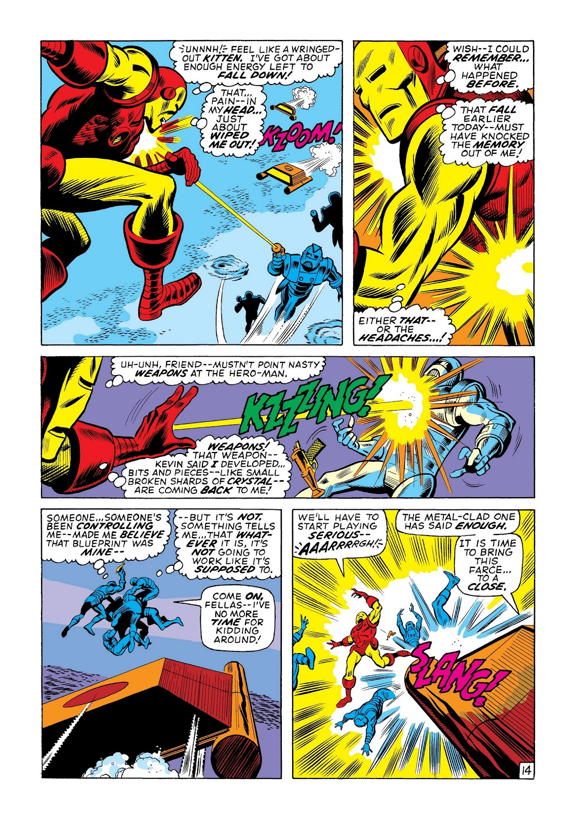 Read online Marvel Masterworks: The Invincible Iron Man comic -  Issue # TPB 8 (Part 1) - 40