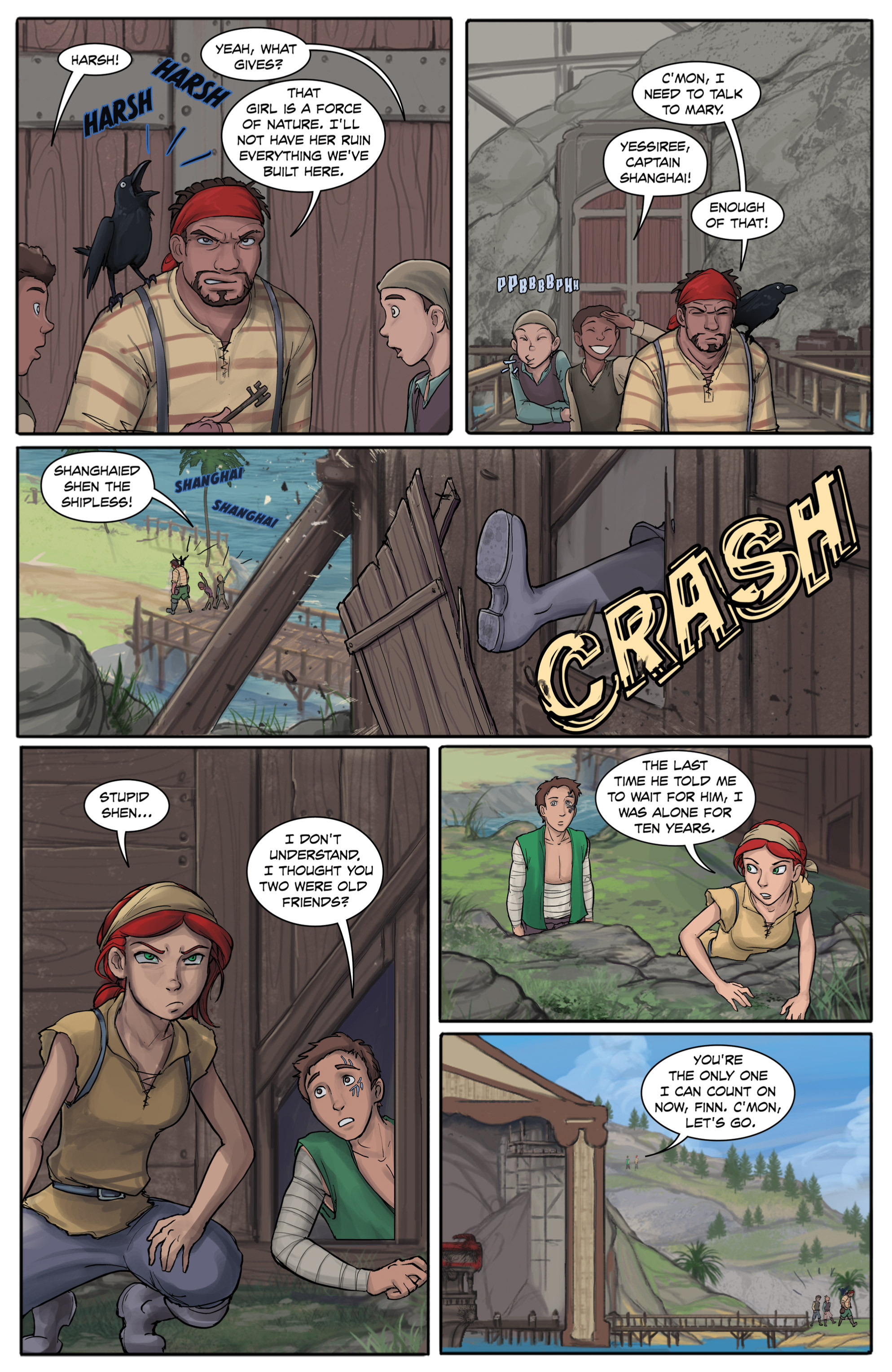 Read online Anne Bonnie comic -  Issue #4 - 15