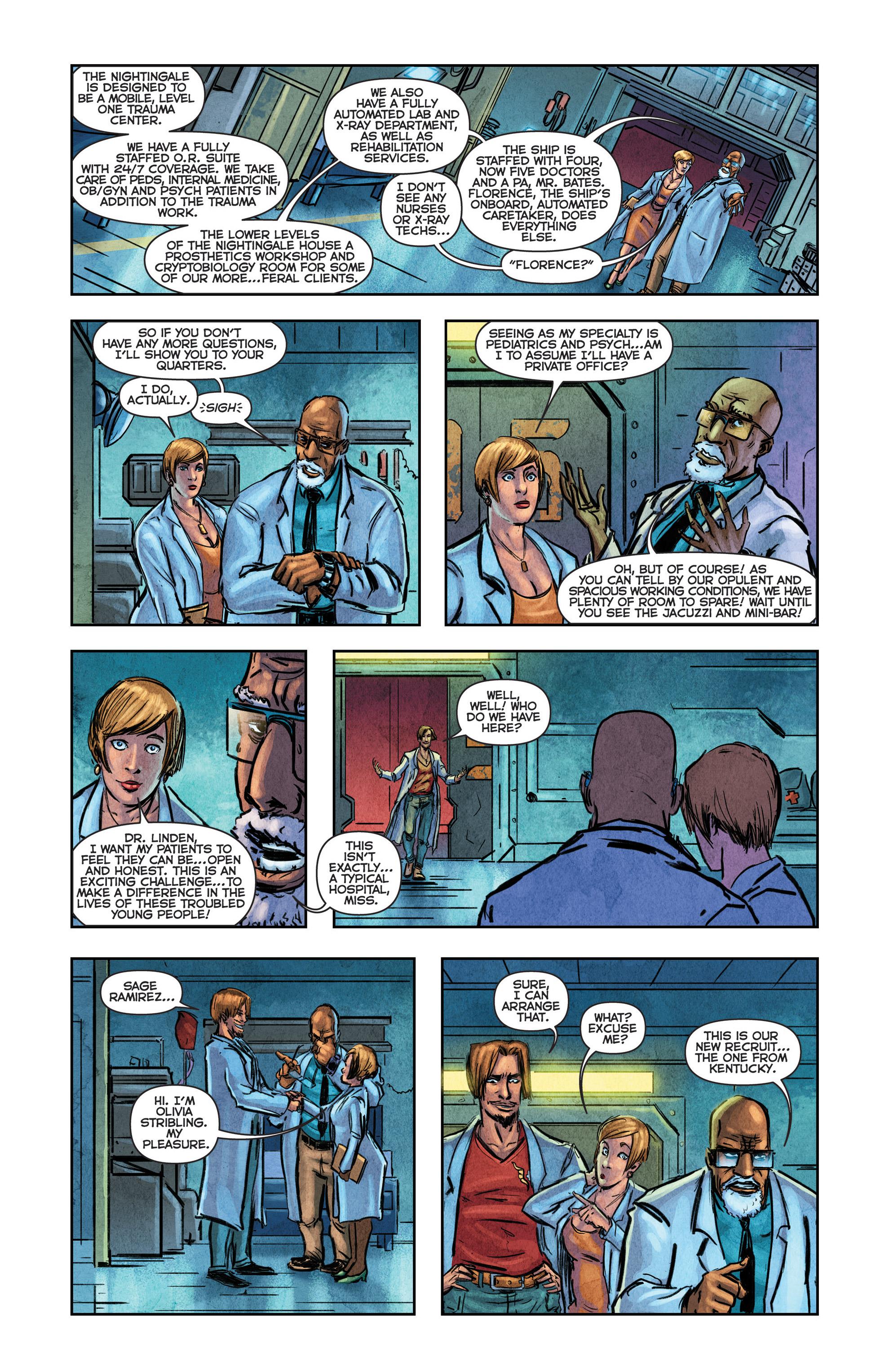 Read online Medisin comic -  Issue #1 - 21