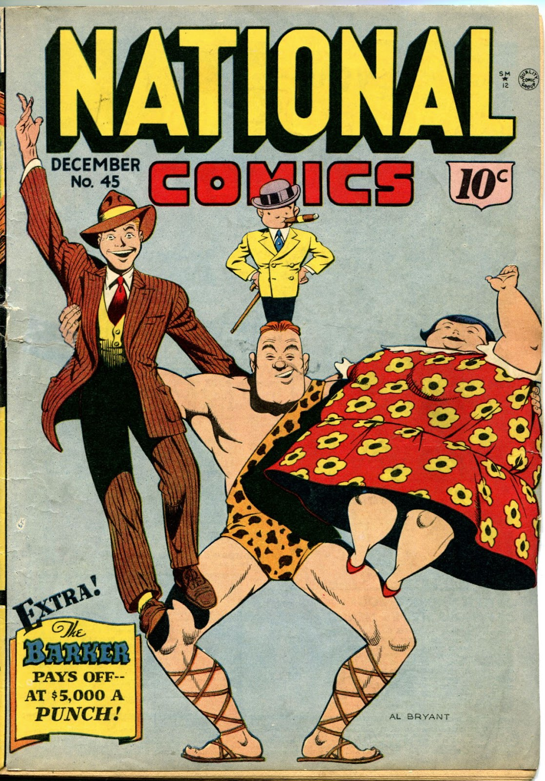 National Comics (1940) issue 45 - Page 1