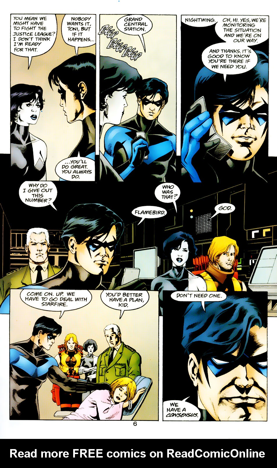 Read online The Titans (1999) comic -  Issue #50 - 7