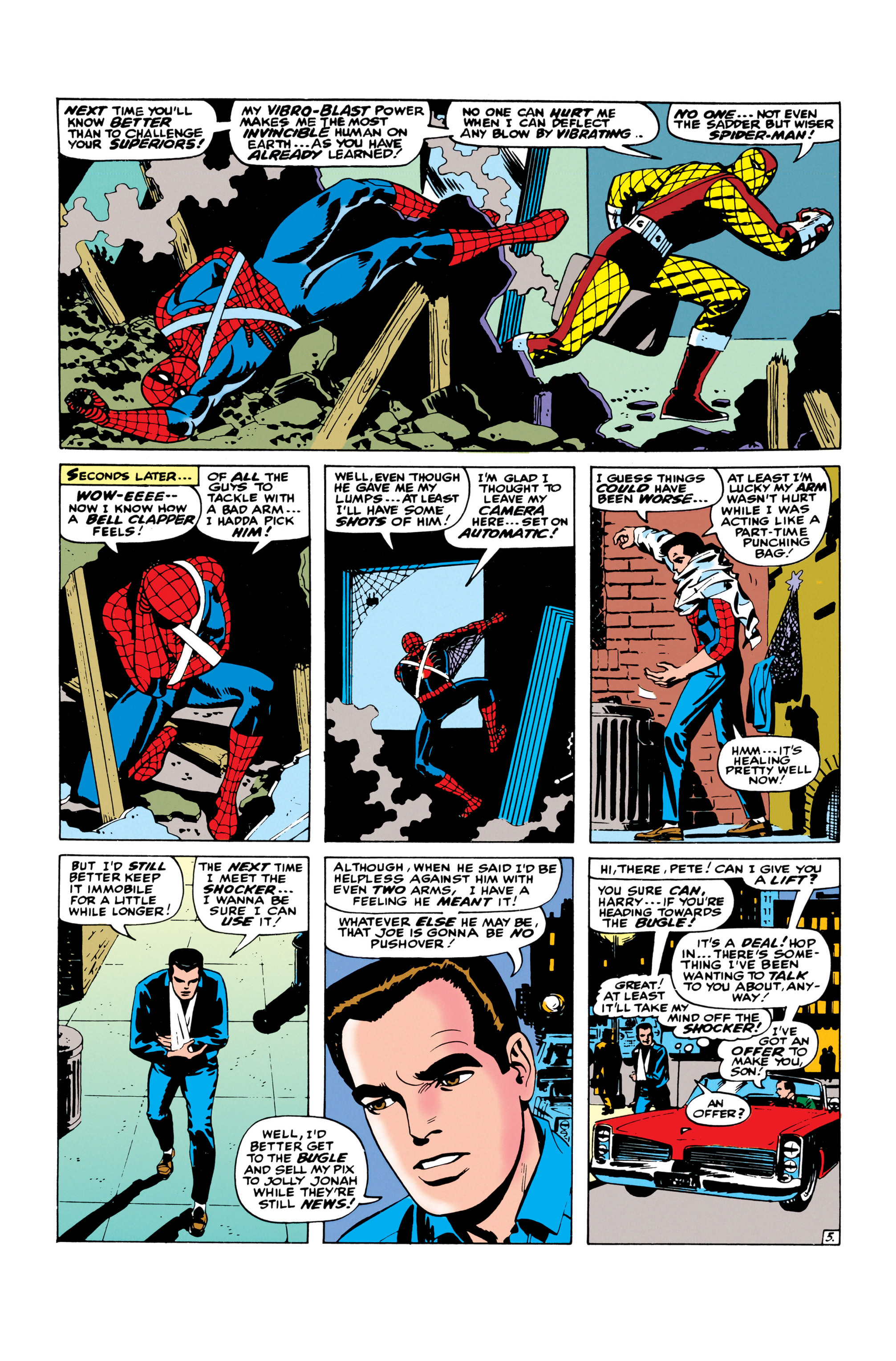 The Amazing Spider-Man (1963) 46 Page 5