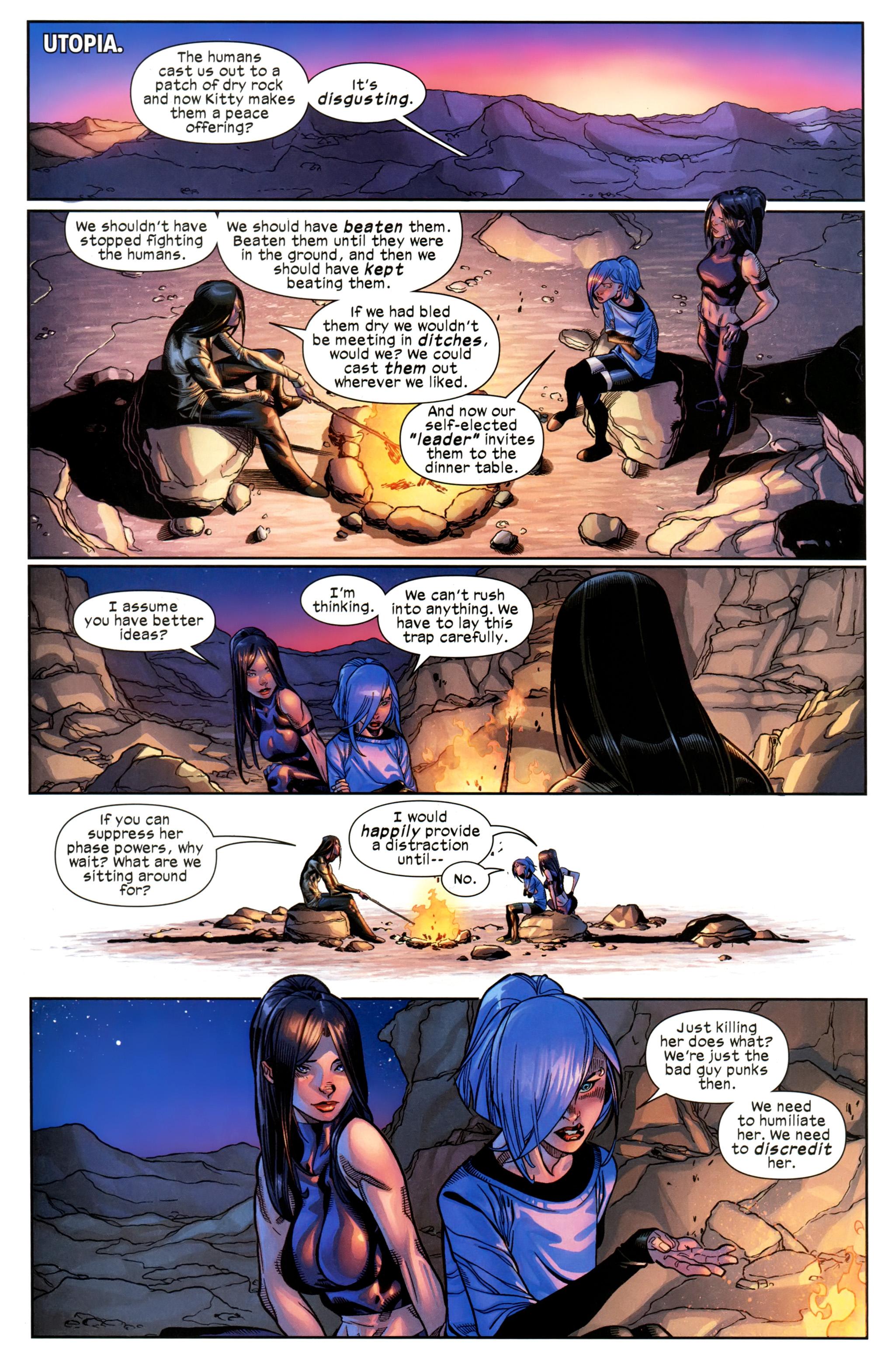 Read online Ultimate Comics X-Men comic -  Issue #21 - 14